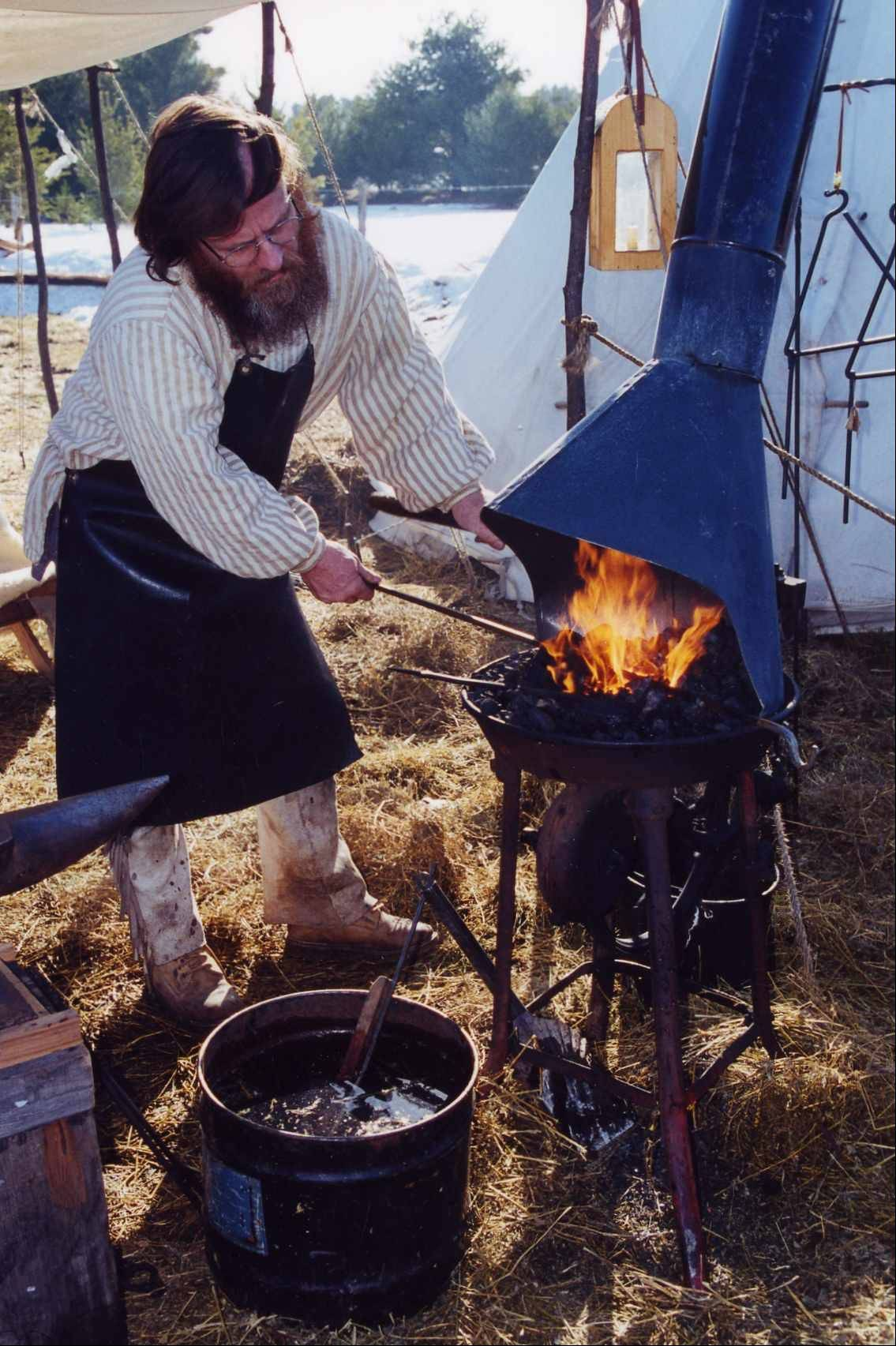 See an authentic period Voyageur encampment at the 22nd Annual Trig's Klondike Days March 3-4 in Eagle River, Wis.