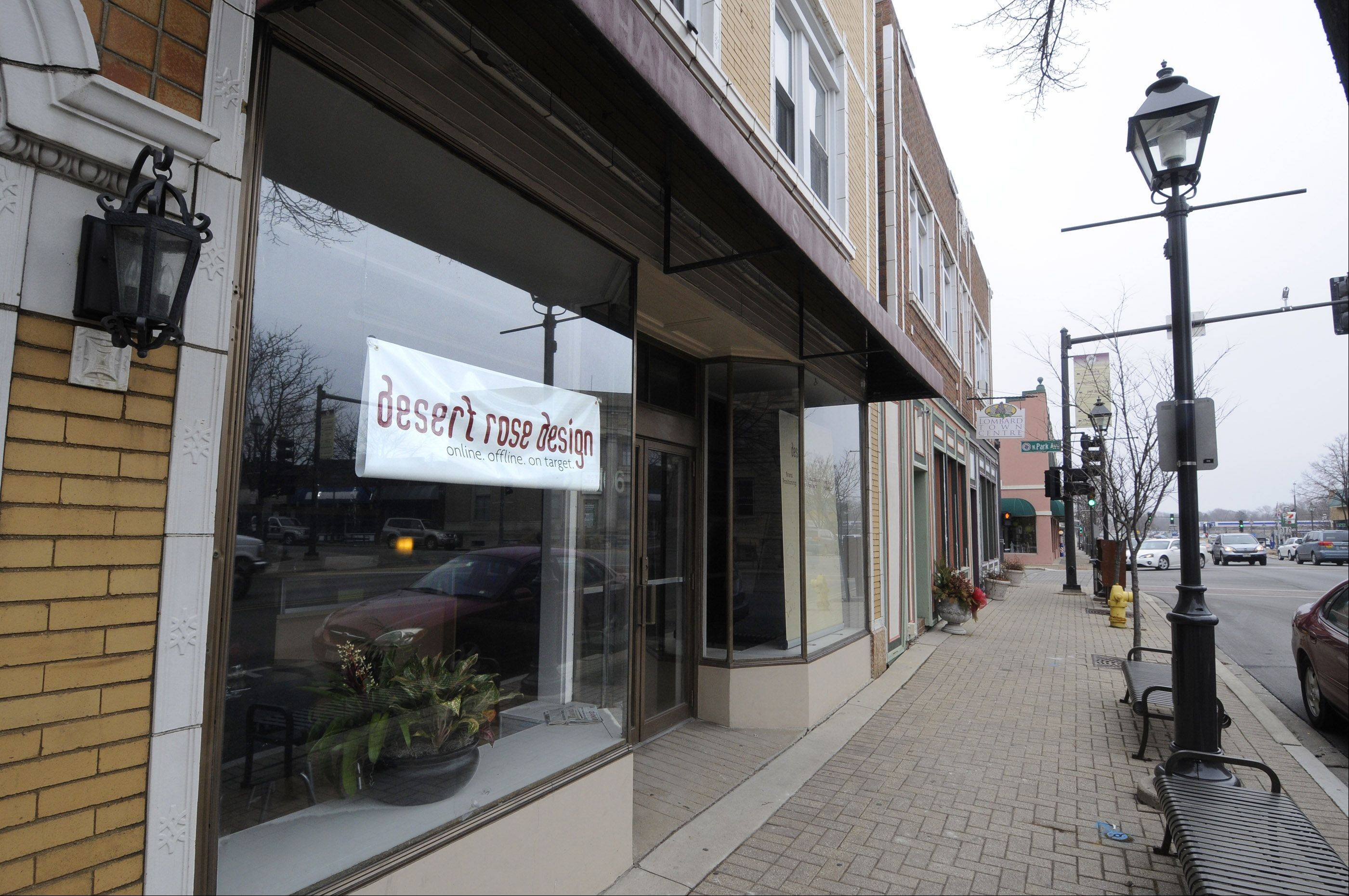 Desert Rose Design is a new business that has moved into a renovated space in downtown Lombard.