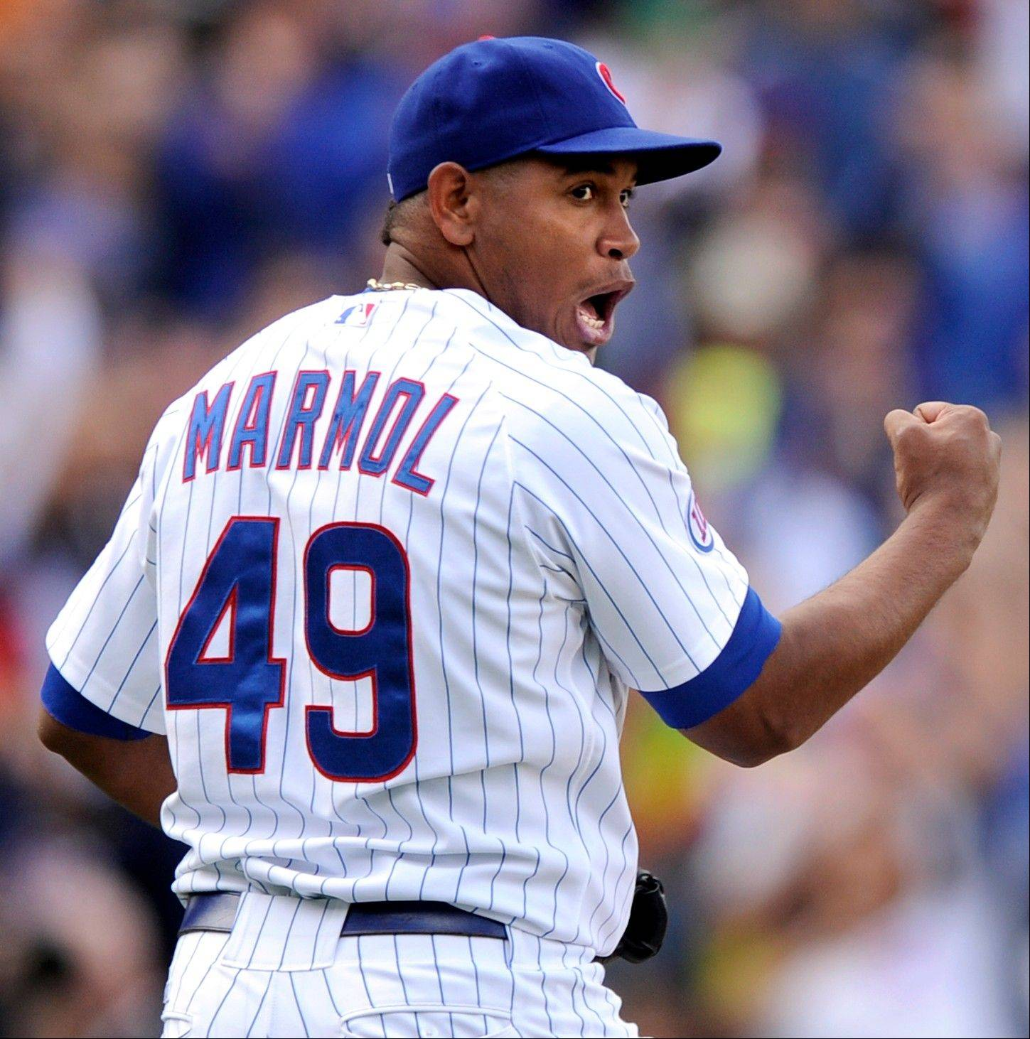 The cubs want closer Carlos Marmol, who saved 34 games last season but blew 10 other save opportunities, to rely on his devastating slider in 2012.