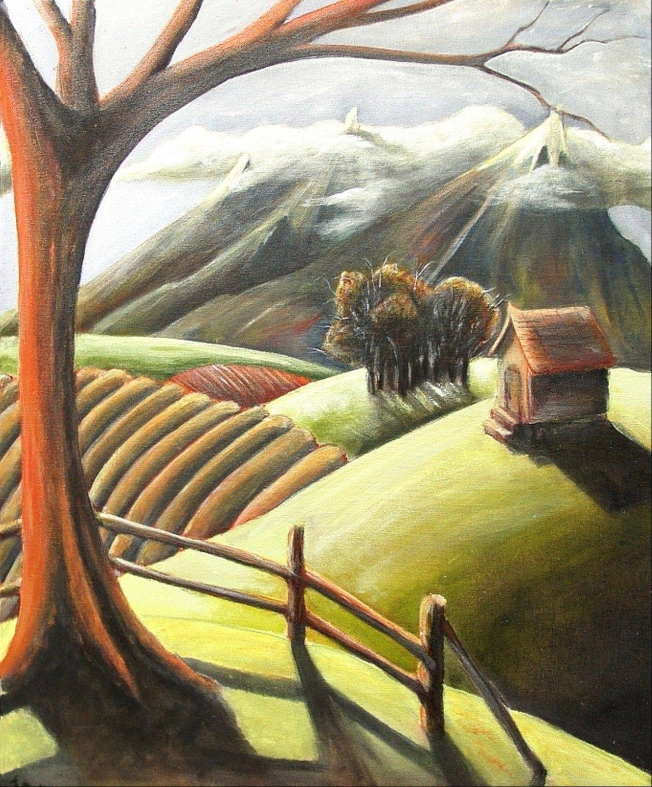 """Tamed Land"" by Jacob Ryckman, second prize winner in the 2010 art competition."