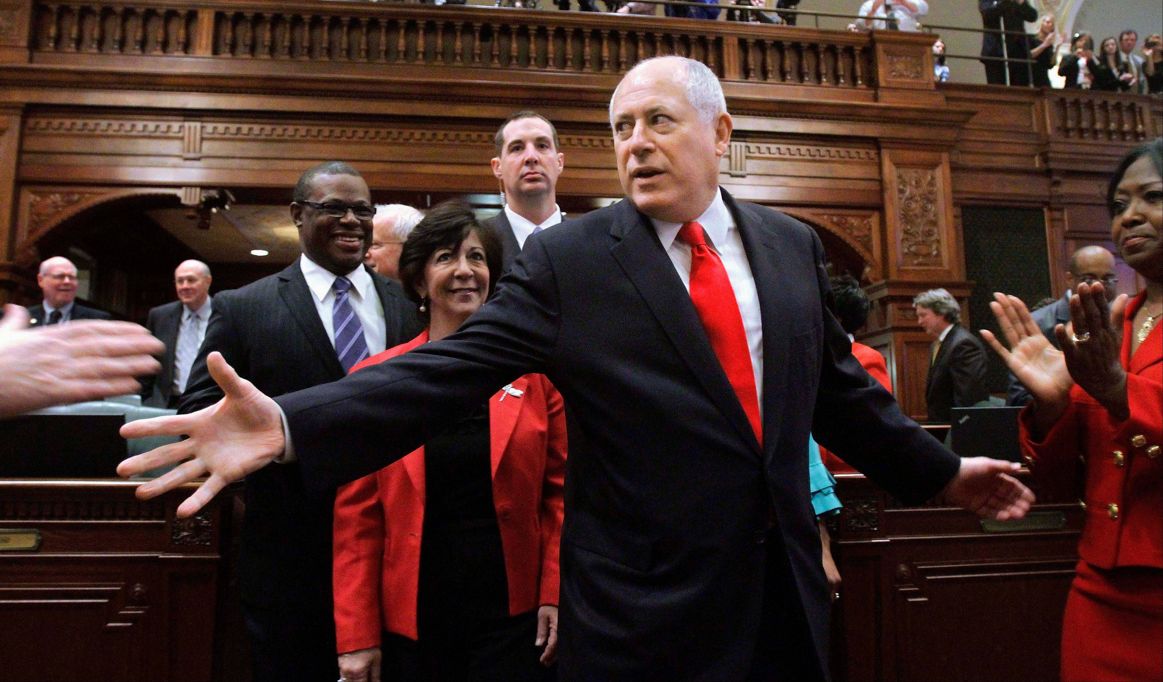 Quinn plans to cut state budget to 2008 levels
