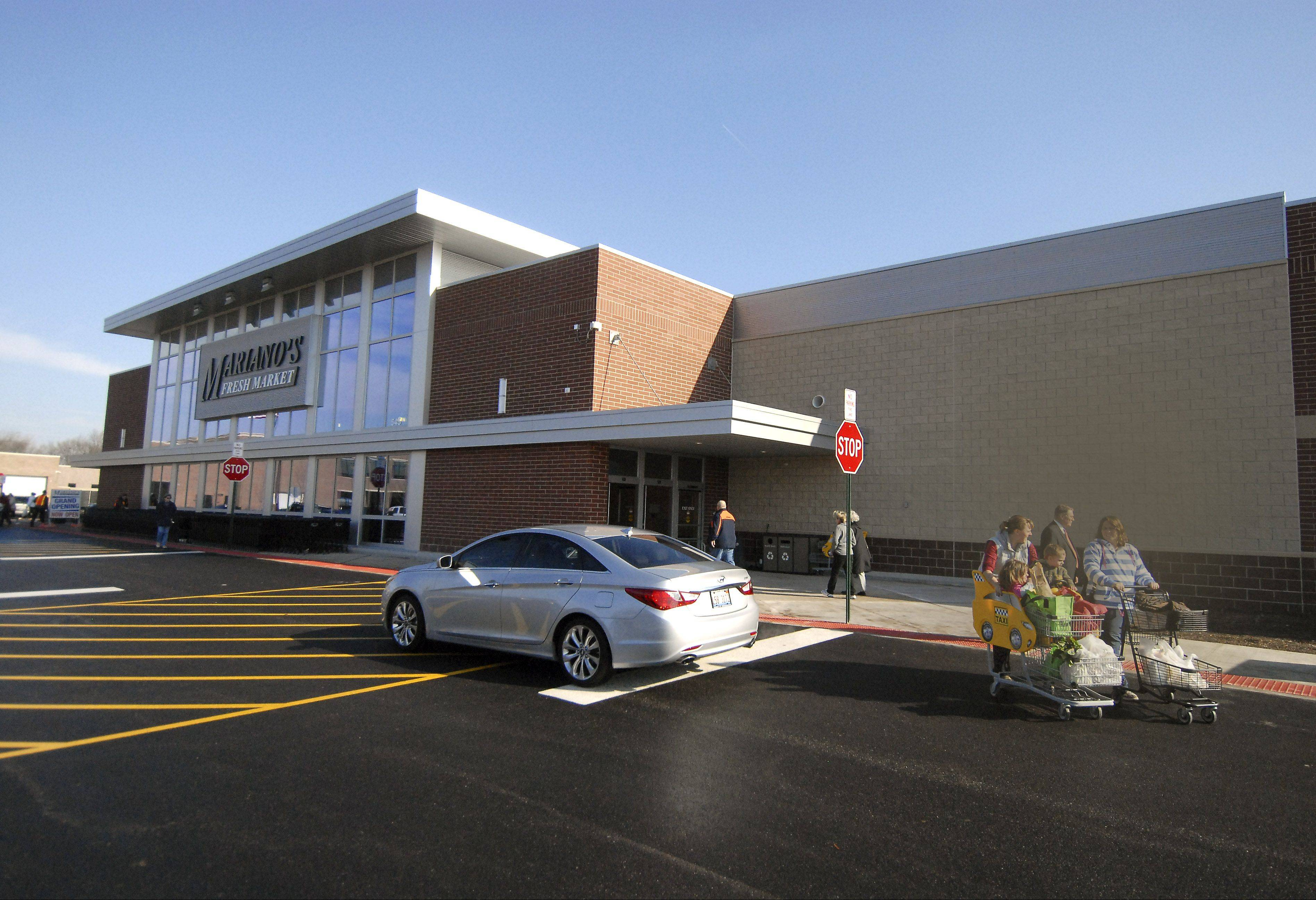 Mariano's Fresh Market is one of the grocery store anchors expected to spark shopping center growth in the next couple years. A store in Palatine was the most recent to open in the suburbs.