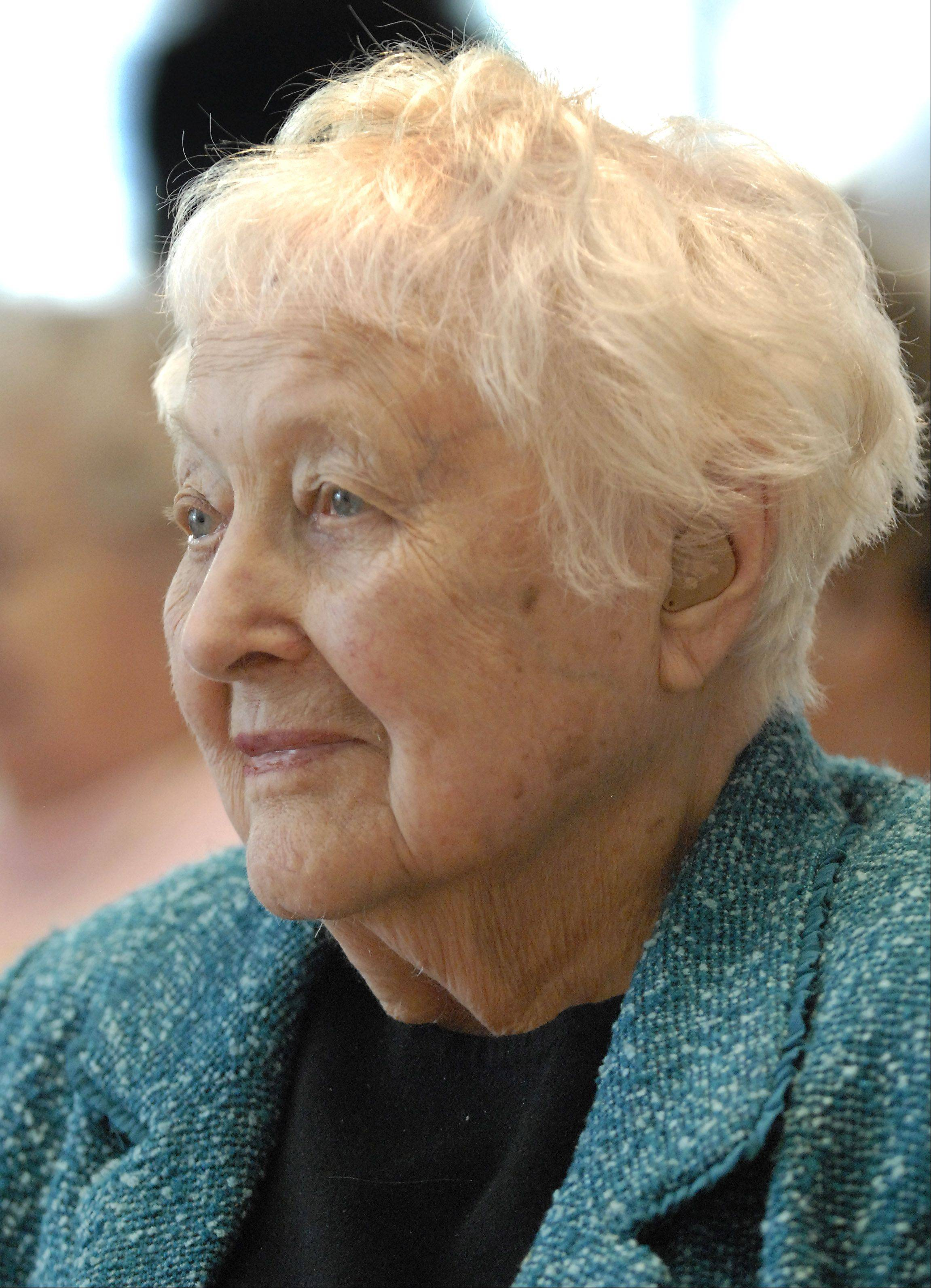 Helen Reed was one of 17 seniors recognized for being at least 100 years old.