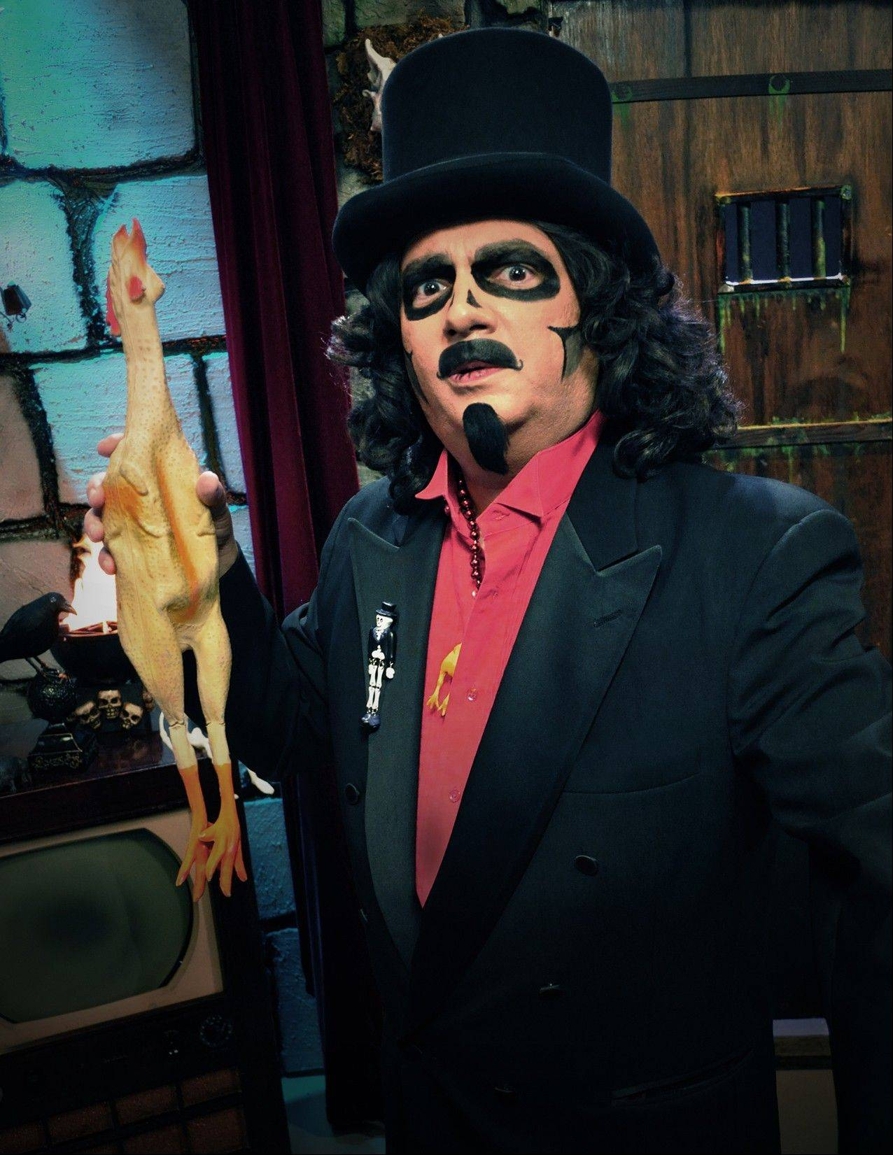 "A spinoff of Rich Koz's Svengoolie character will appear on ""Glee"" tonight."