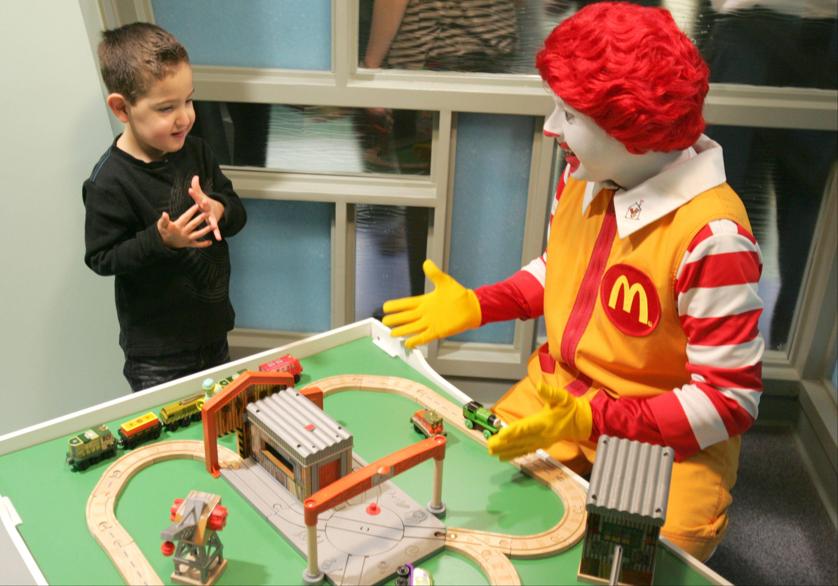 Edward unveils state's first Ronald McDonald room
