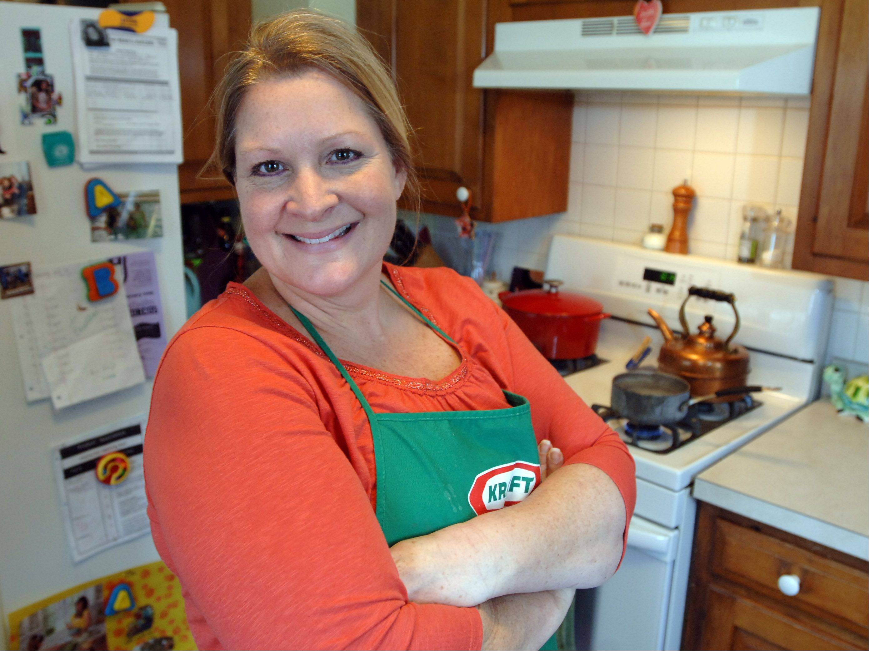 Jackie Burke of Lake Zurich takes recipe inspiration from Food Network chefs and from her sister, a chef and culinary instructor.