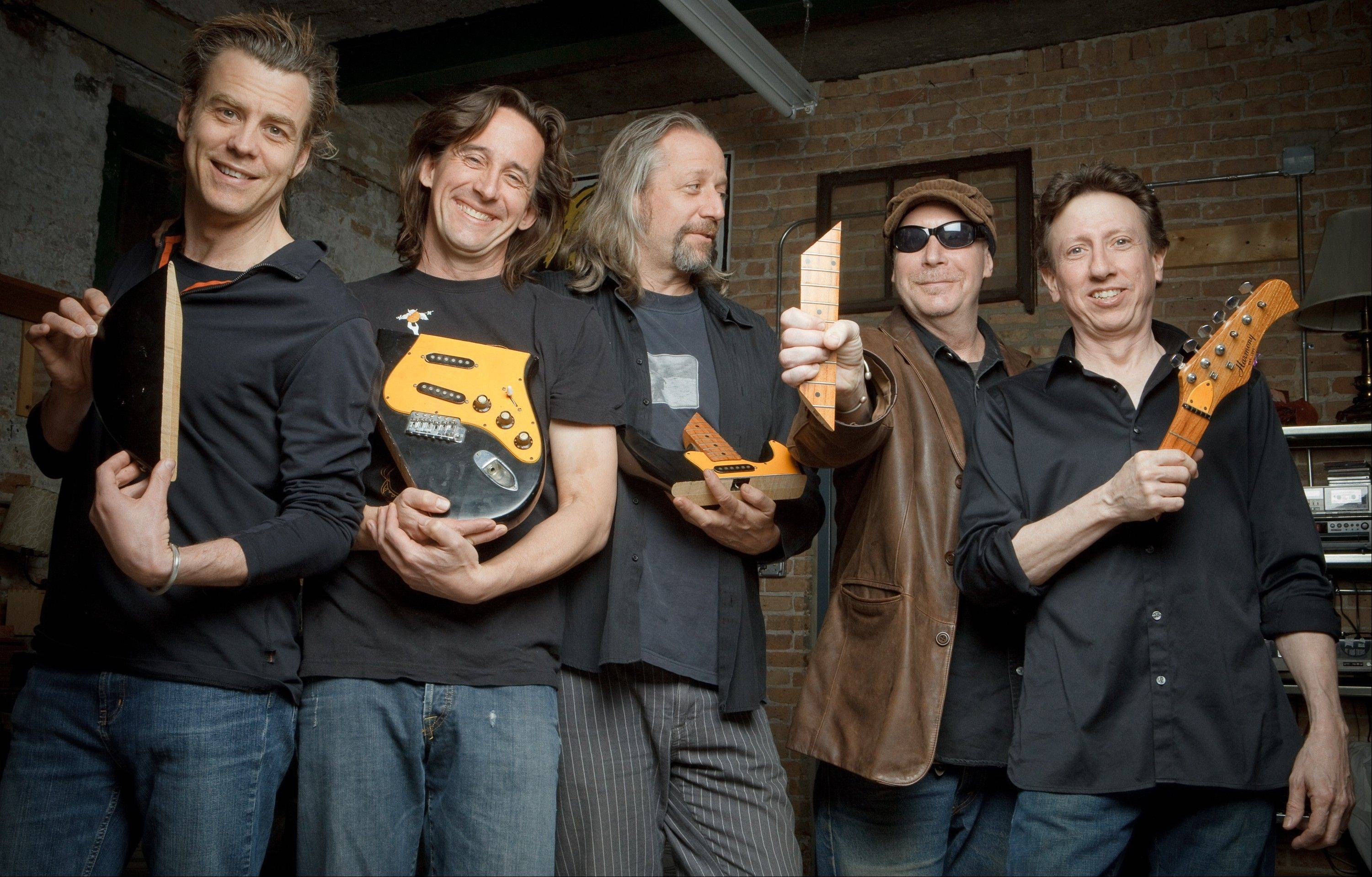 "The Bad Examples just released a new CD, ""Smash Record."" Band members, from left, are Steve Gerlach, Ralph Covert, Larry Beers, Tom ""Pickles"" Piekarski and Tom O'Brien."