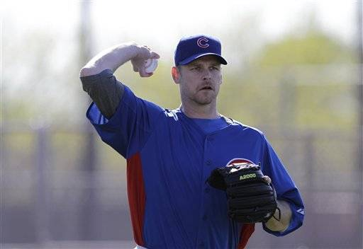 When it comes to his bullpen setup men, Cubs manager Dale Sveum said Tuesday there's only one: right-hander Kerry Wood.