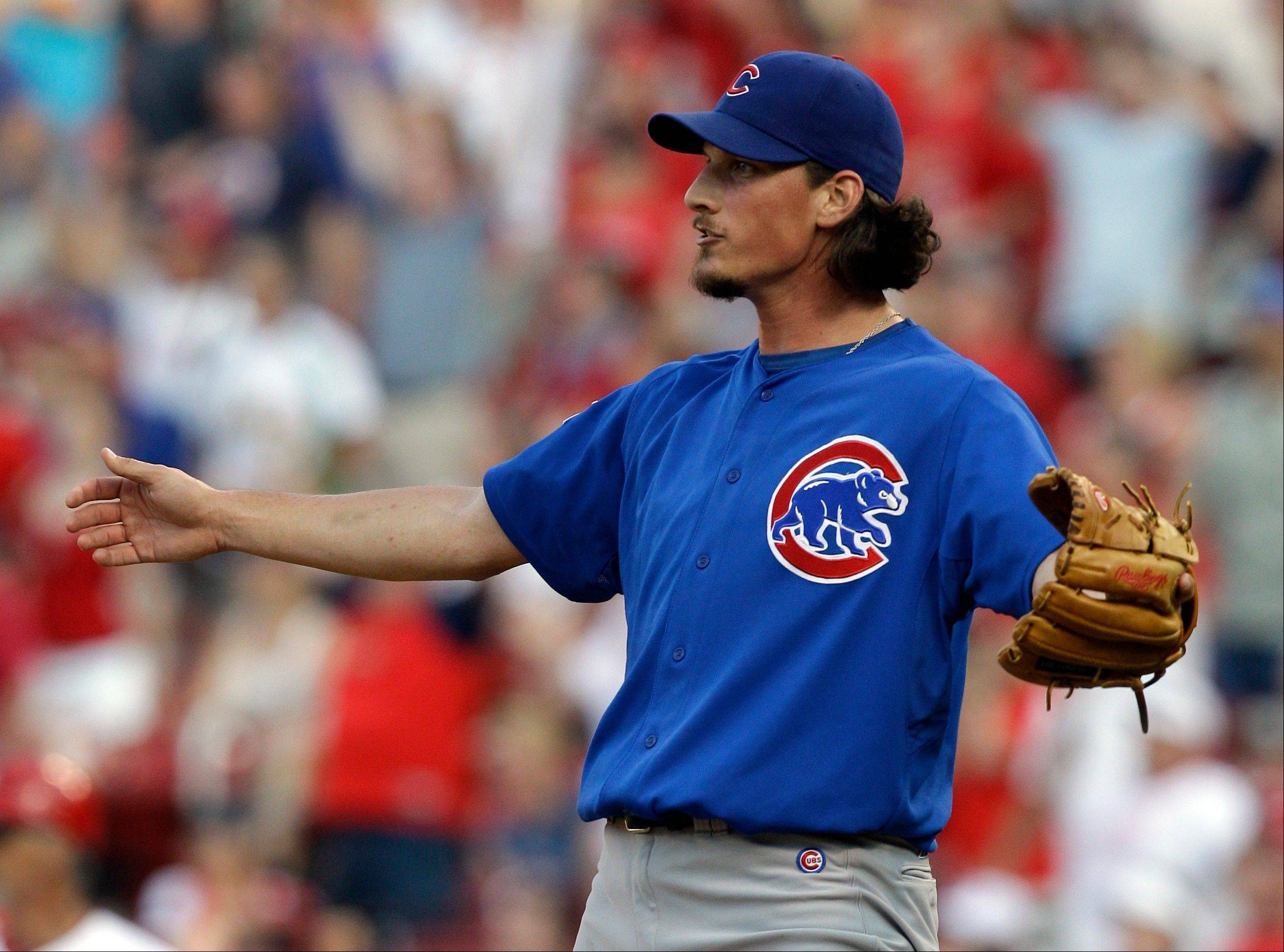 Cubs pitcher Jeff Samardzija, who quit football to concentrate on baseball, has encountered bumps on the road to finding success in the major leagues.