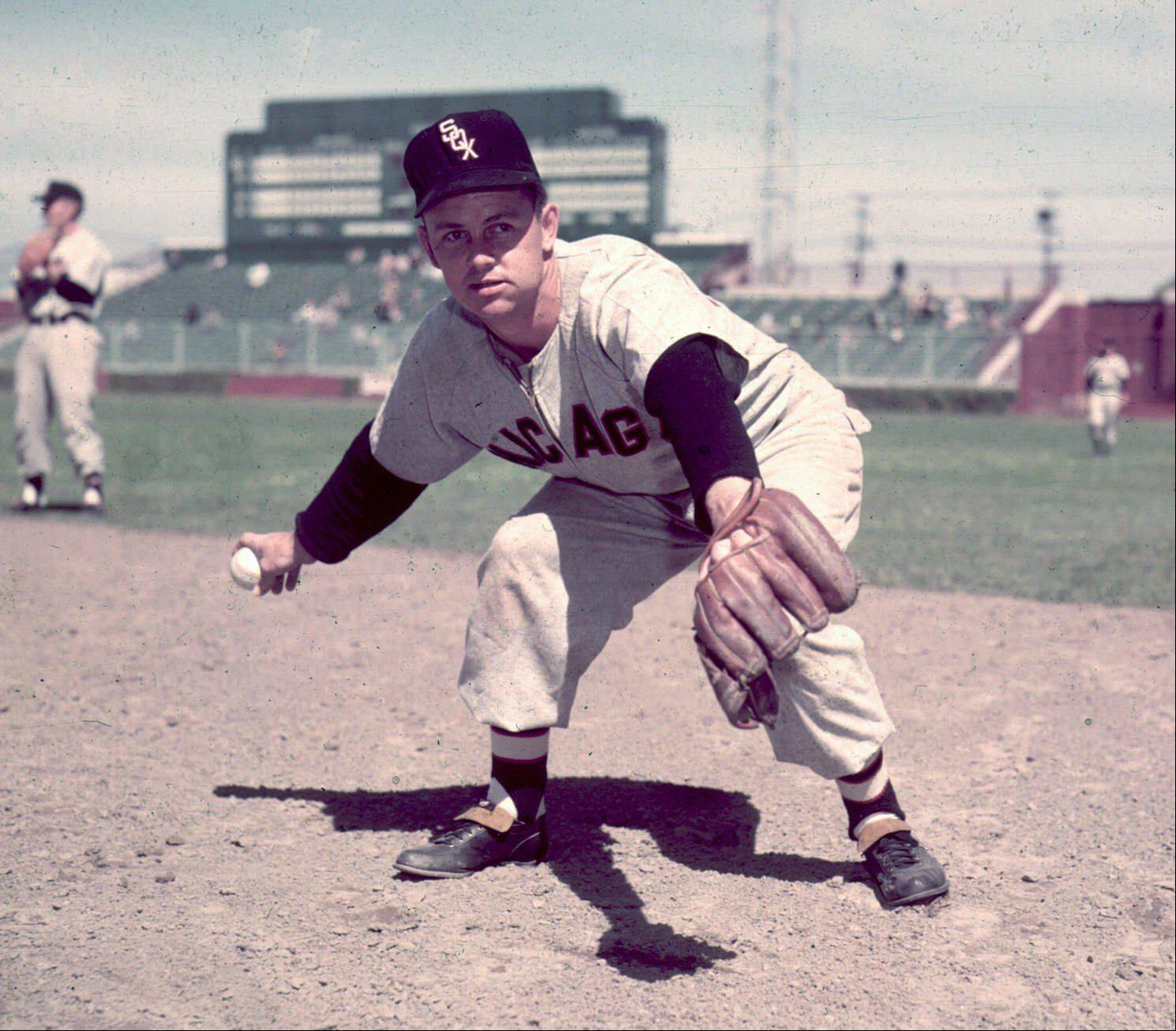 Chicago White Sox Nellie Fox, shown in this 1953 photo.