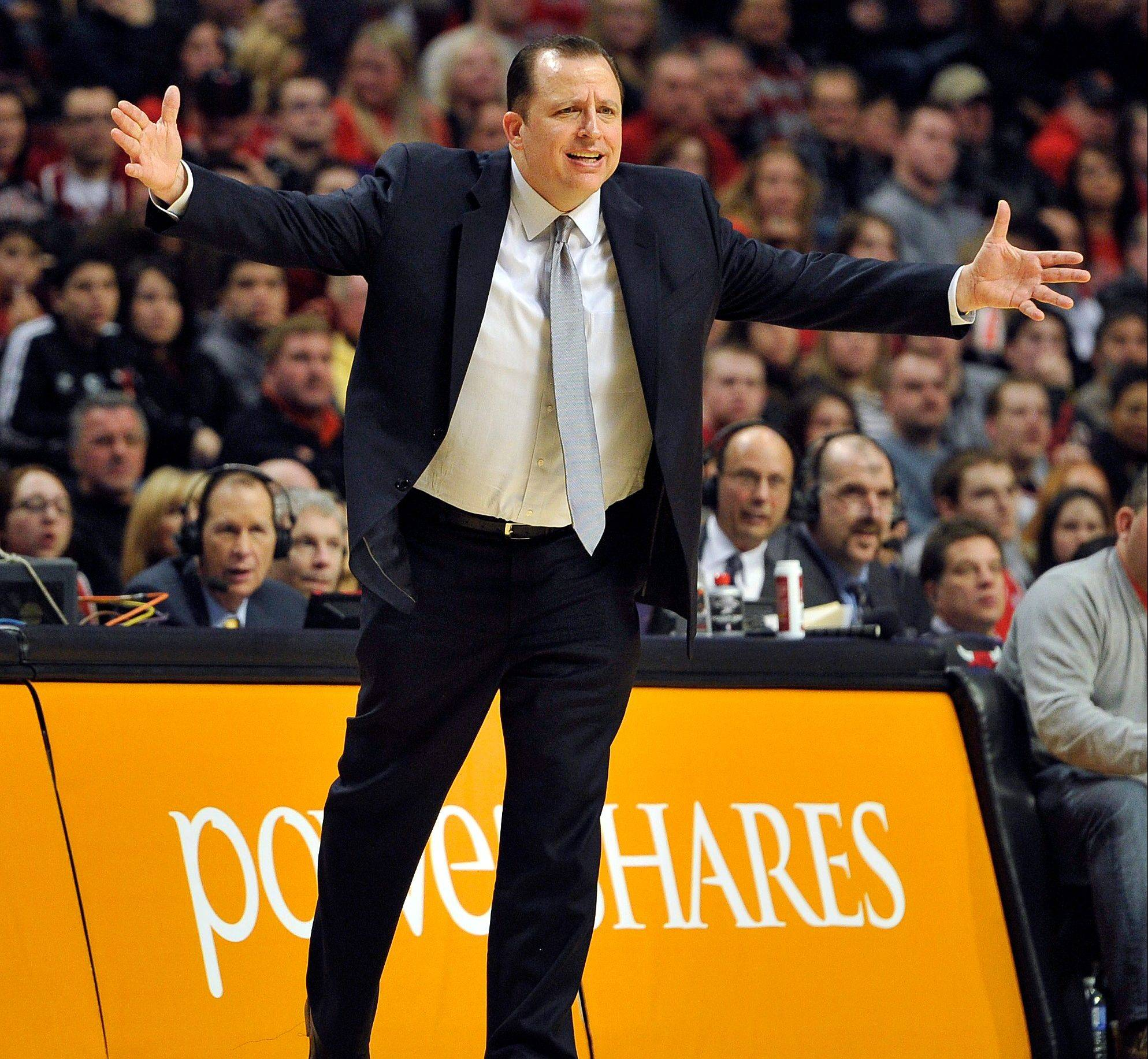 Tom Thibodeau, famous for his workaholic coaching style, says he can handle both coaching the East all-star squad and getting the Bulls ready for the second half of the season.