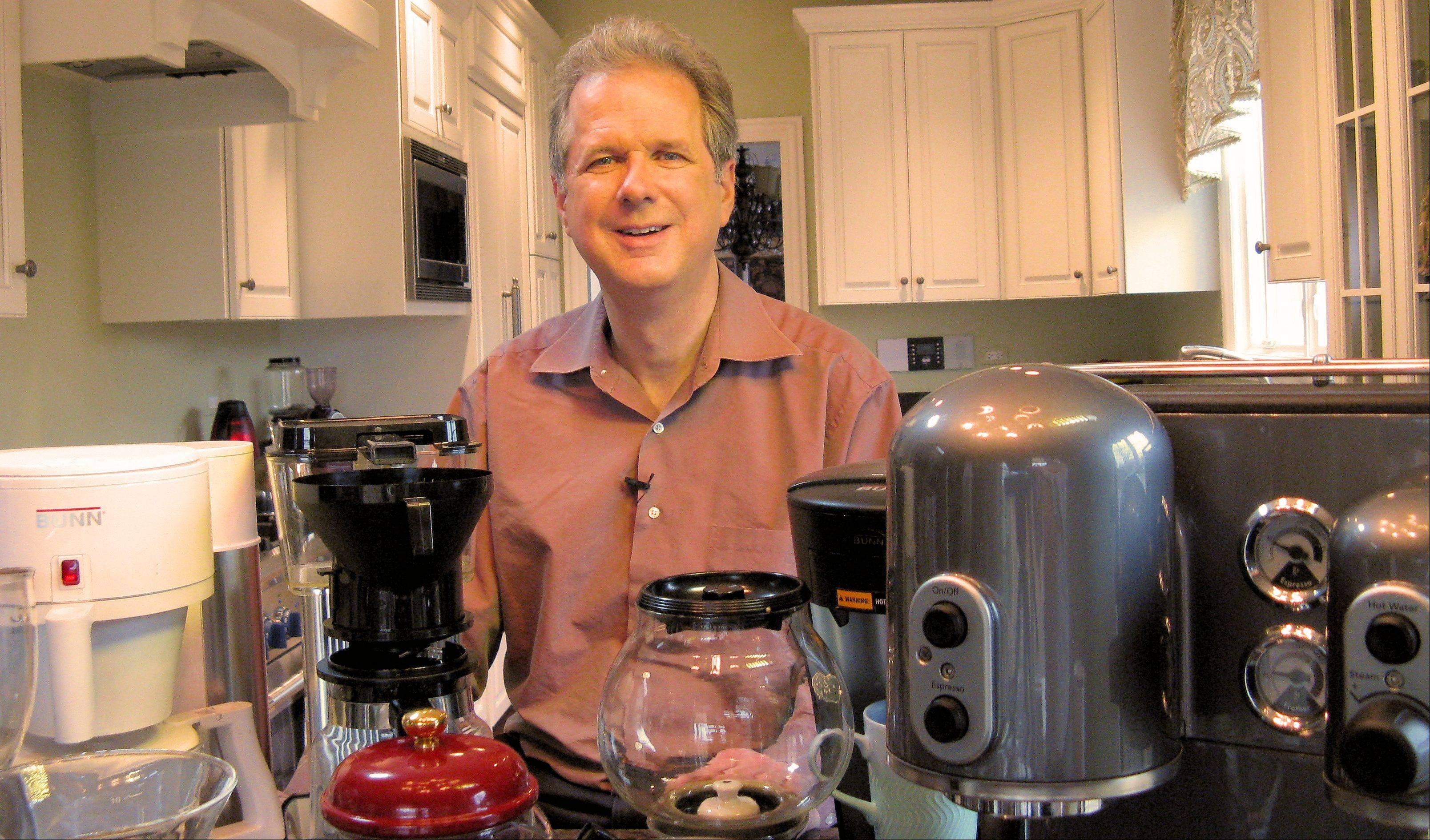 Coffee brewing expert Kevin Sinnott says it's been his dream to give consumers the opportunity to see and compare different coffees and coffee-making equipment. On Saturday, that dream comes true when Sinnott presents CoffeeCon 2012 in Warrenville.