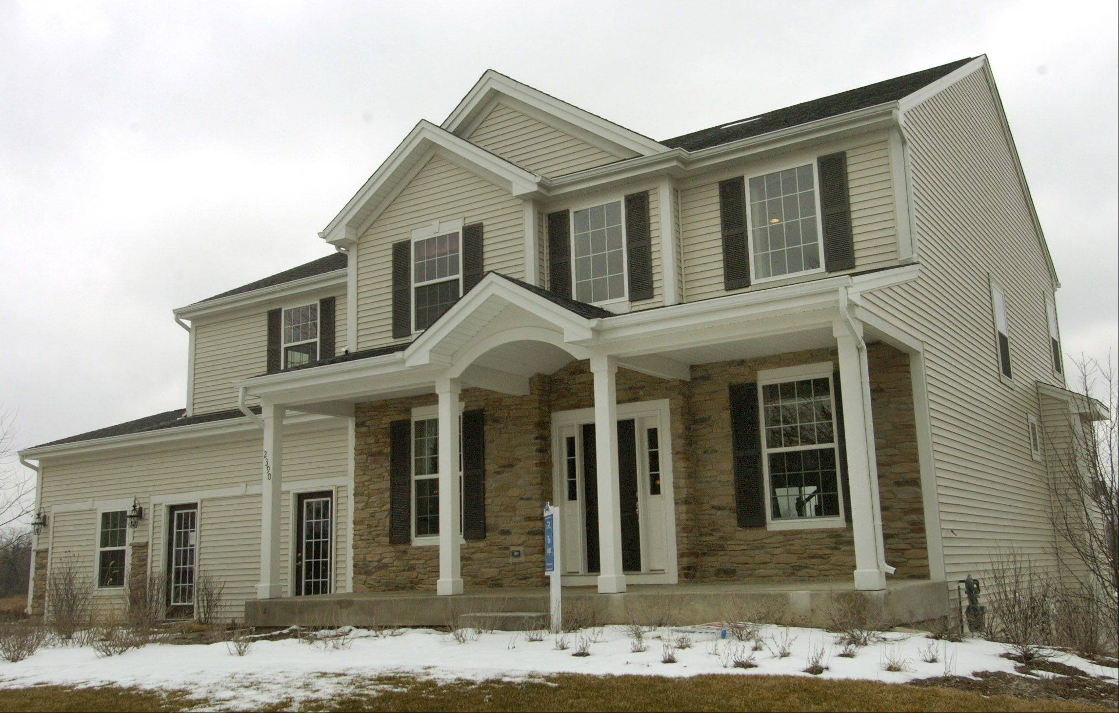 Buyers have a lot of options with flex space in the Jasper model by William Ryan Homes at The Preserves in Lindenhurst.
