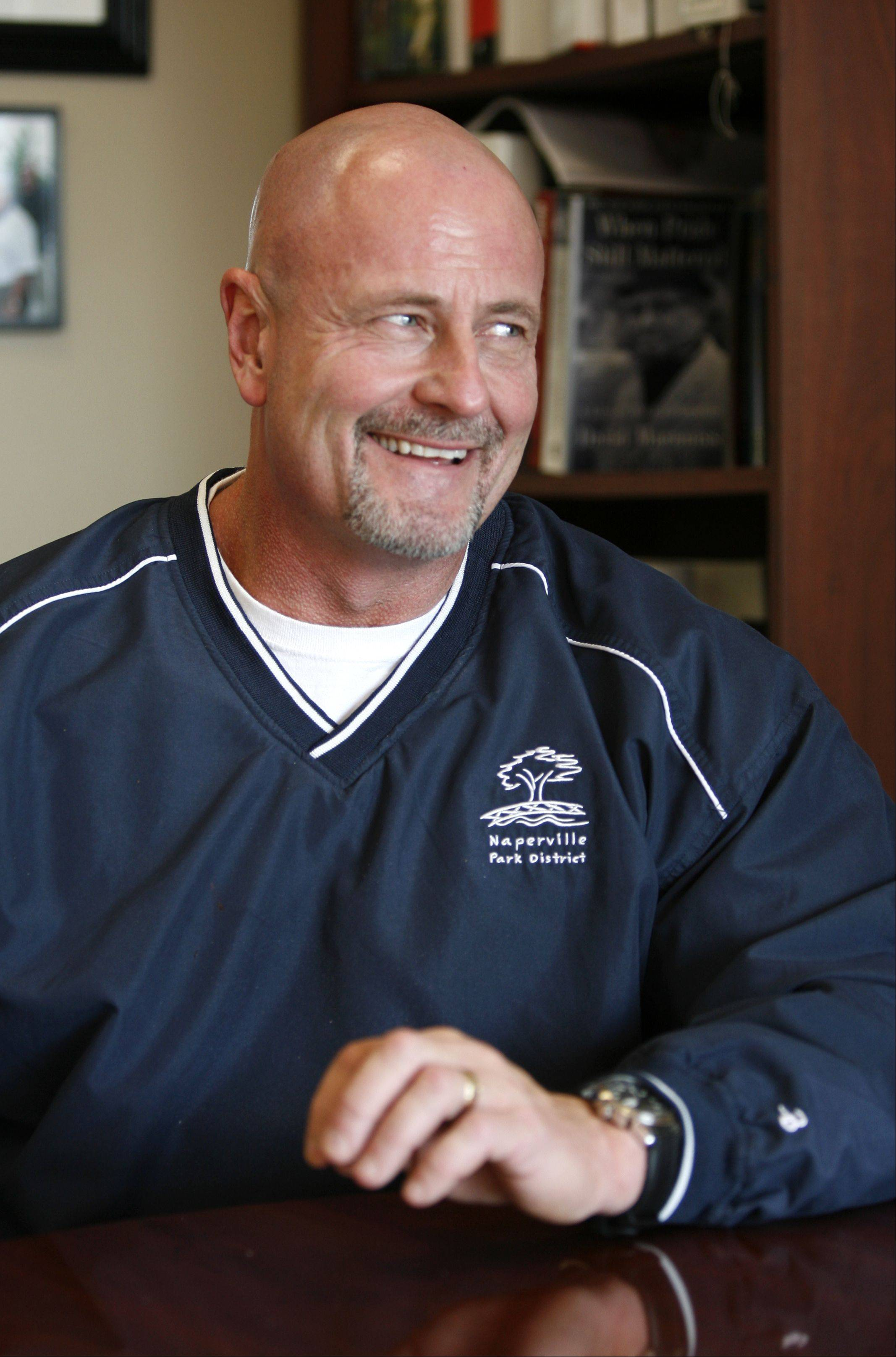 Ray McGury will continue to lead the Naperville Park District through 2015.
