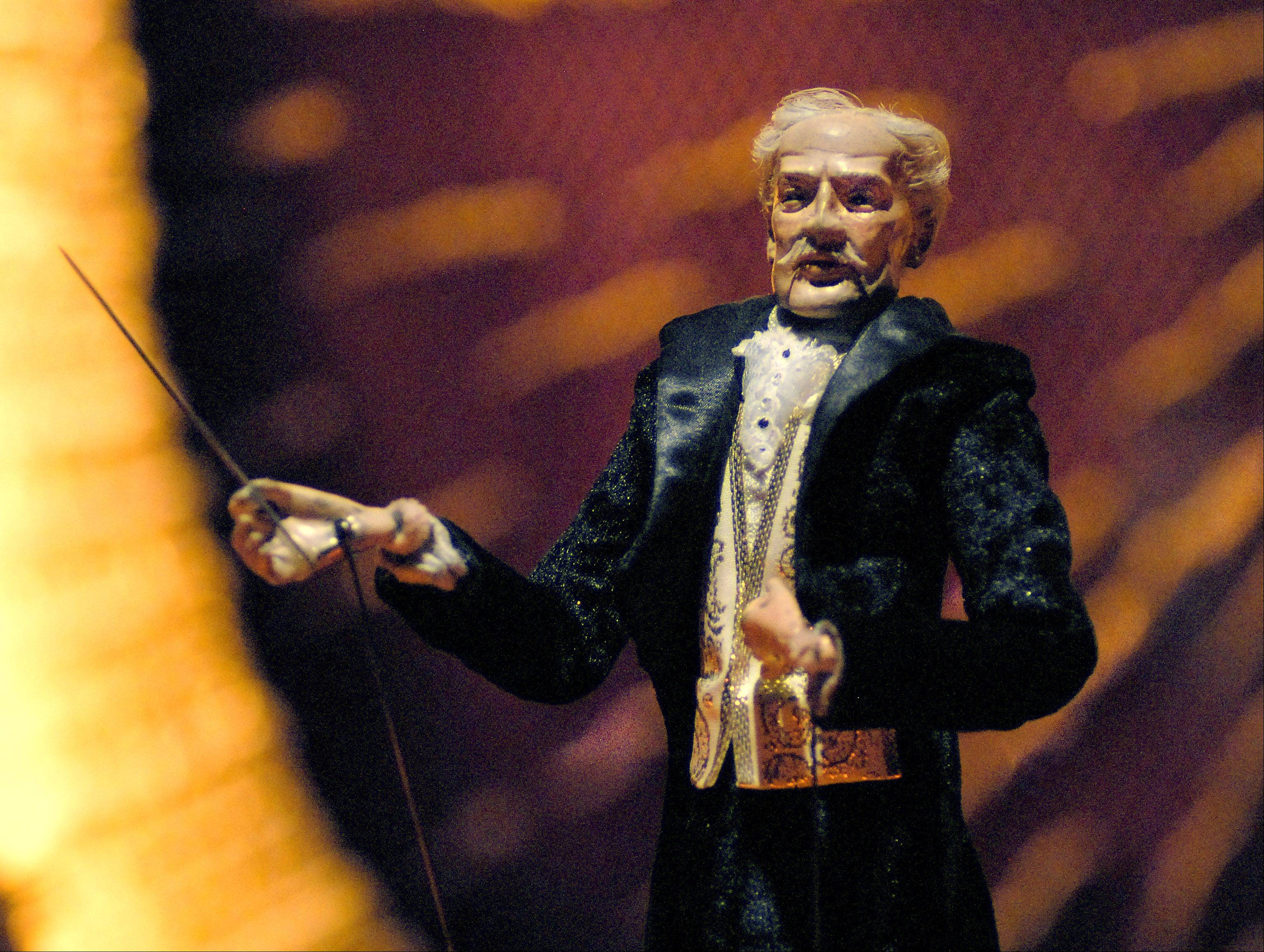 Maestro Tosci, based on conductor Arturo Toscanini, leads the Opera in Focus orchestra.