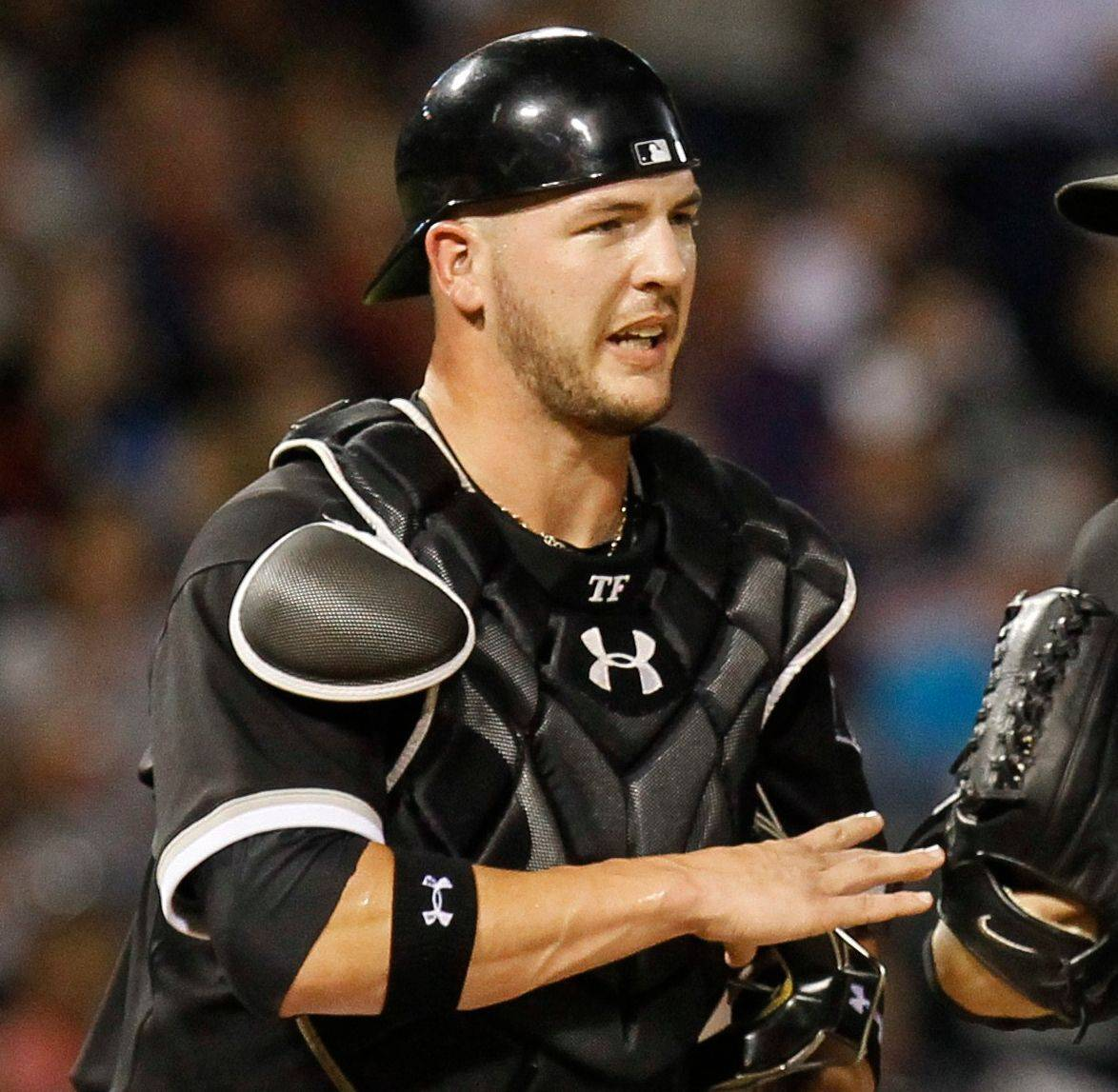 Tyler Flowers, above, is the heir apparent to veteran White Sox catcher A.J. Pierzynski