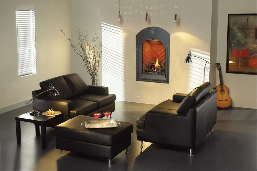 Gas Fireplaces Like This One Manufactured By Napoleon Are Available At Plus In
