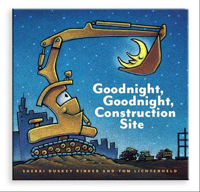 """Goodnight, Goodnight Construction Site"" is The New York Times No. 1 children's picture book."