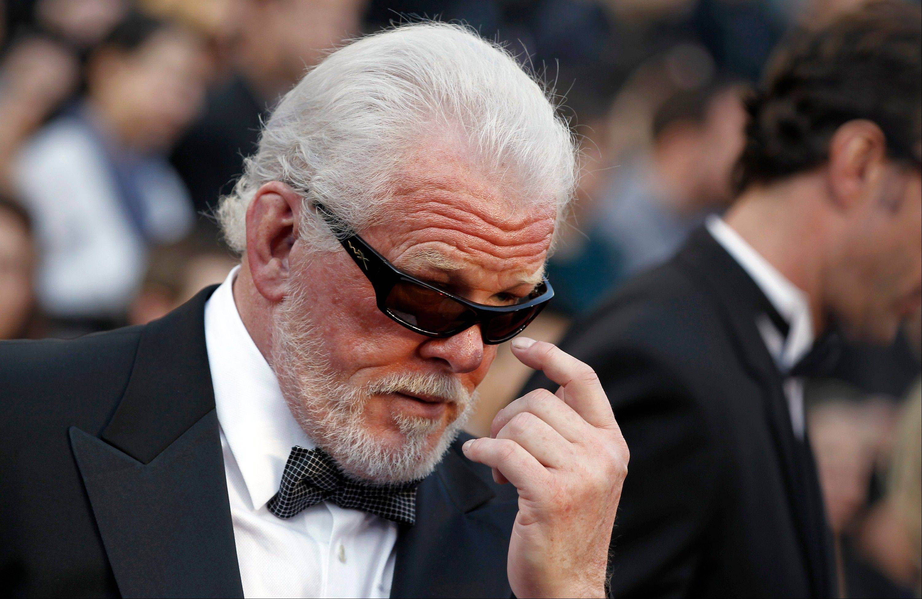 Nick Nolte creates an air of mystery with those shades.
