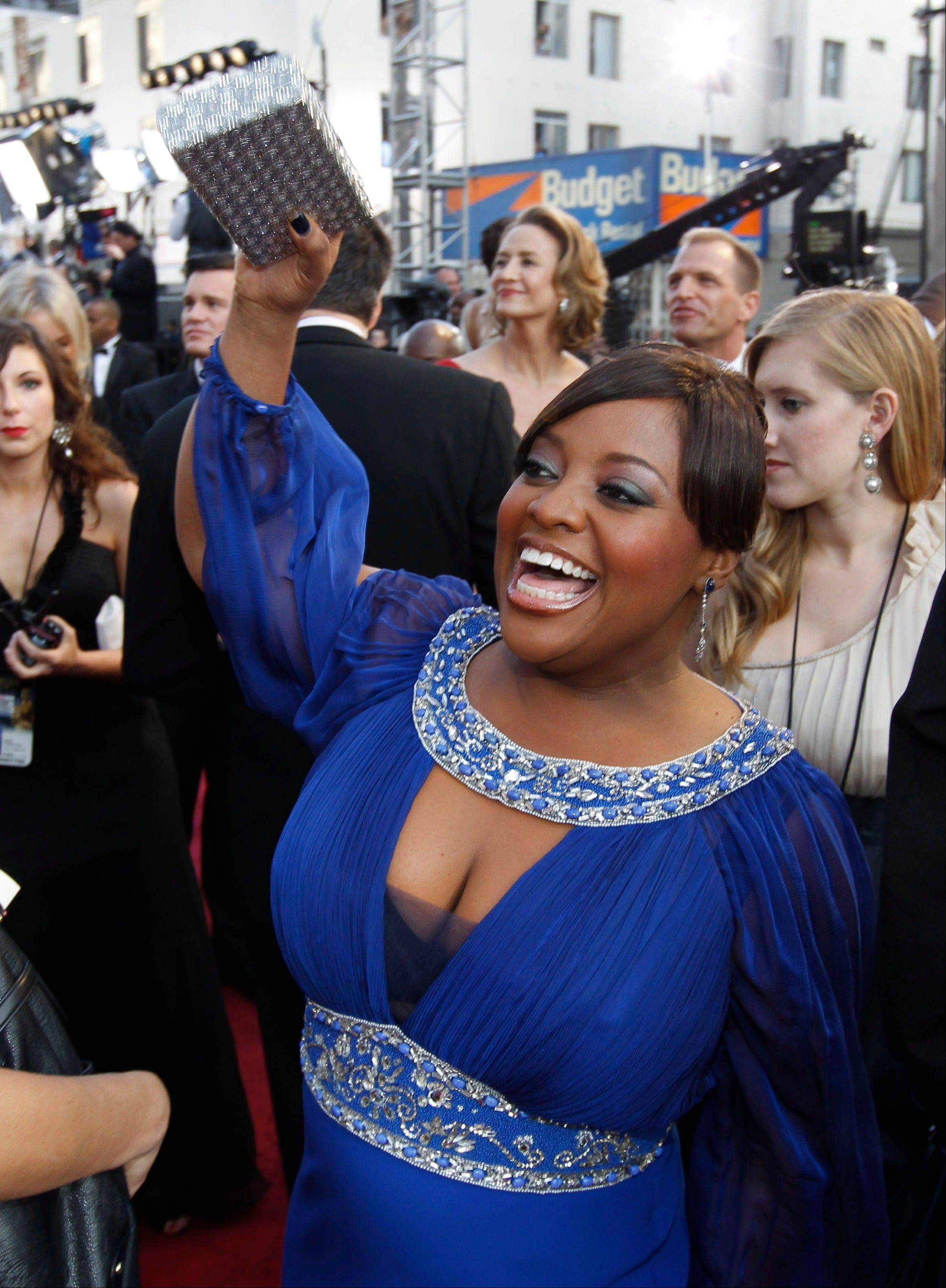 Hoffman Estates native Sherri Shepherd arrives before the 84th Academy Awards on Sunday.