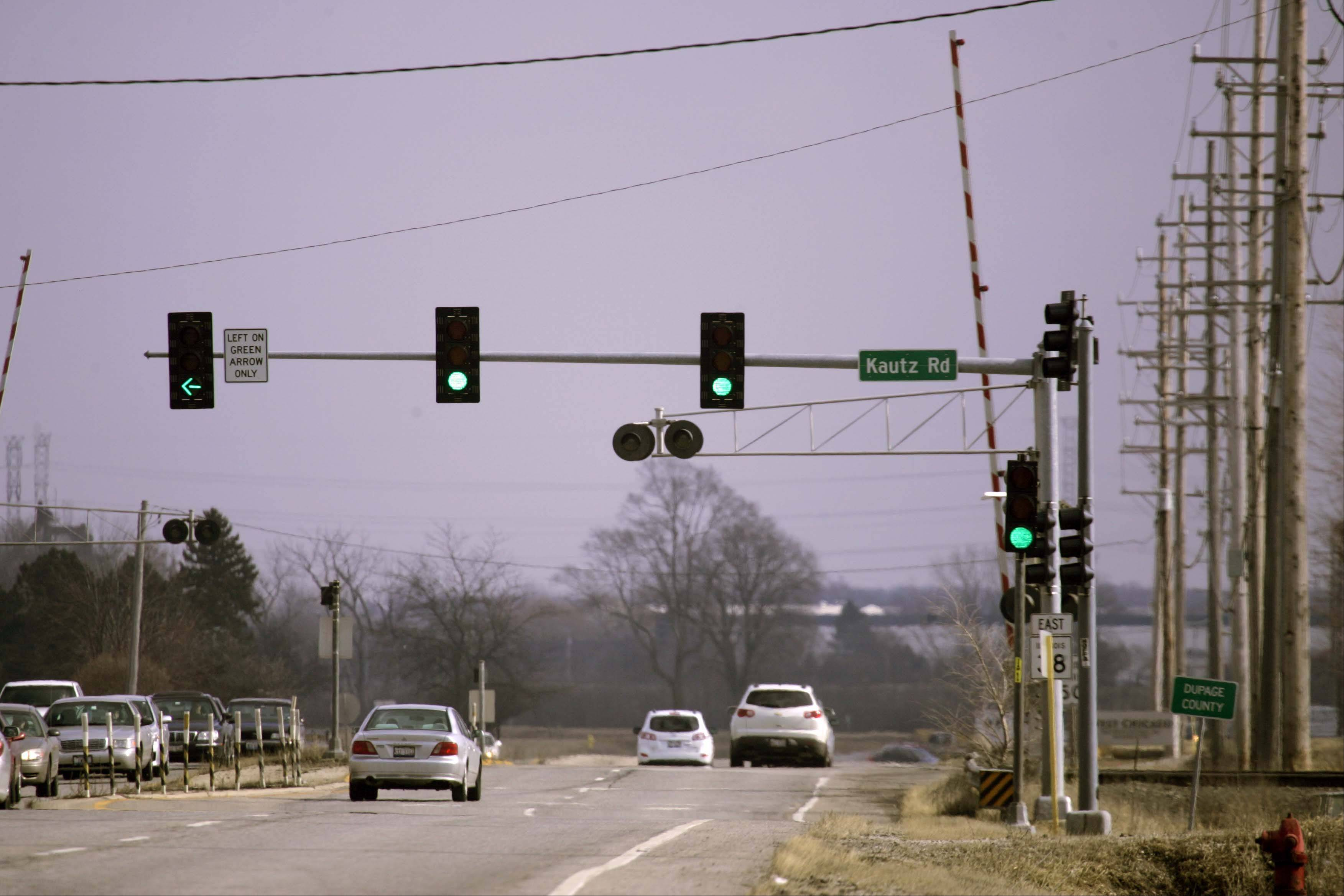 The state plans to start construction this summer on a Route 38/Kautz Road overpass at the Union Pacific railroad tracks in West Chicago.