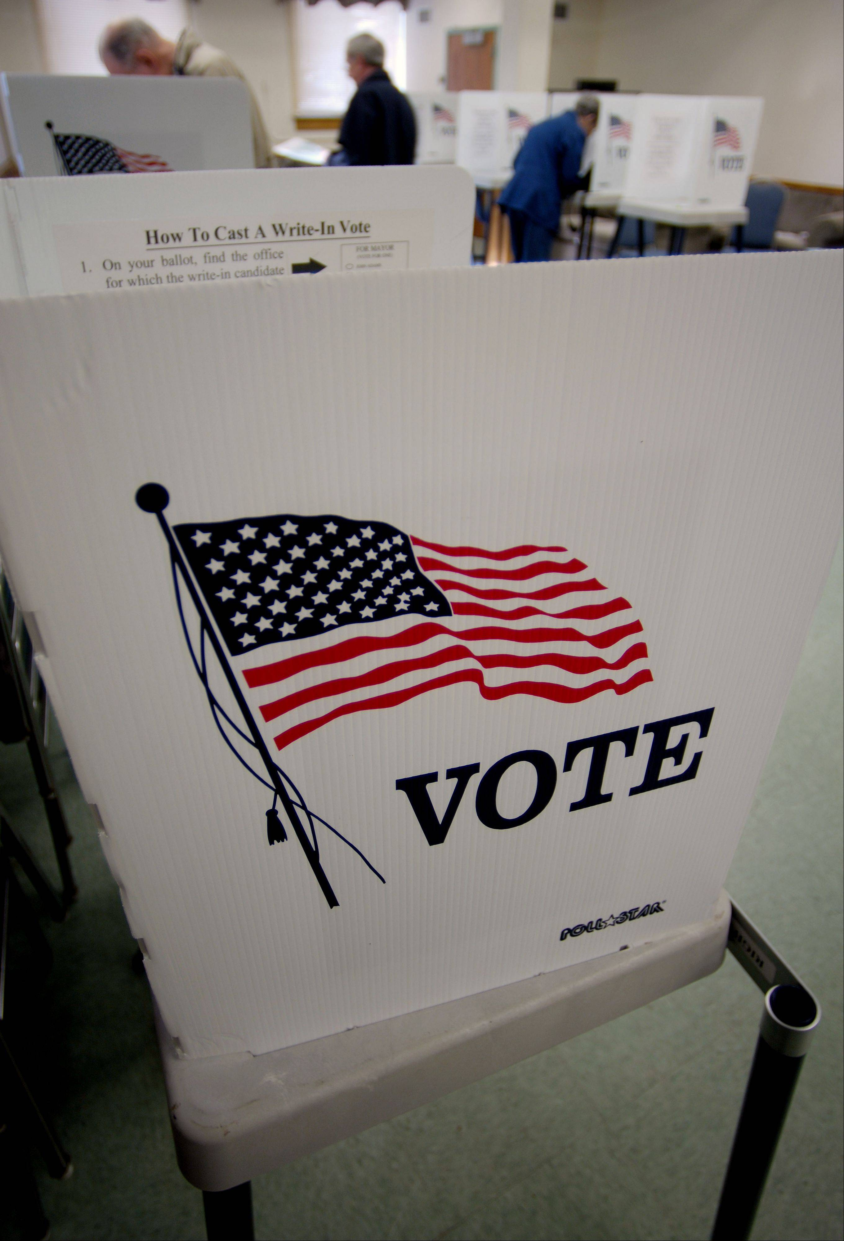 Early voting for the March 20 primaries starts across the suburbs today and runs through March 15.