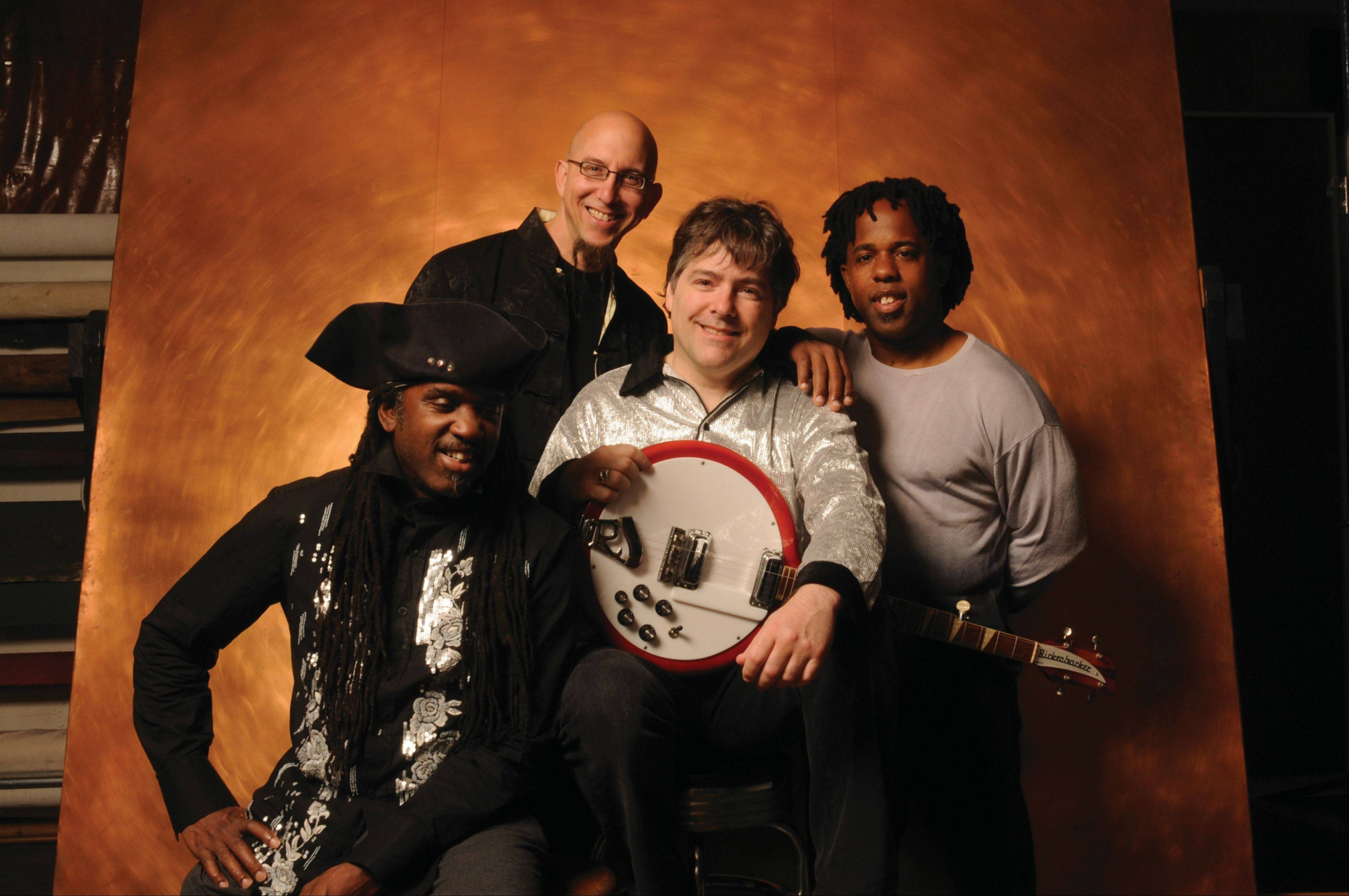 Bela Fleck and the Flecktones will play Saturday, March 3, at North Central College's Wentz Concert Hall in Naperville.