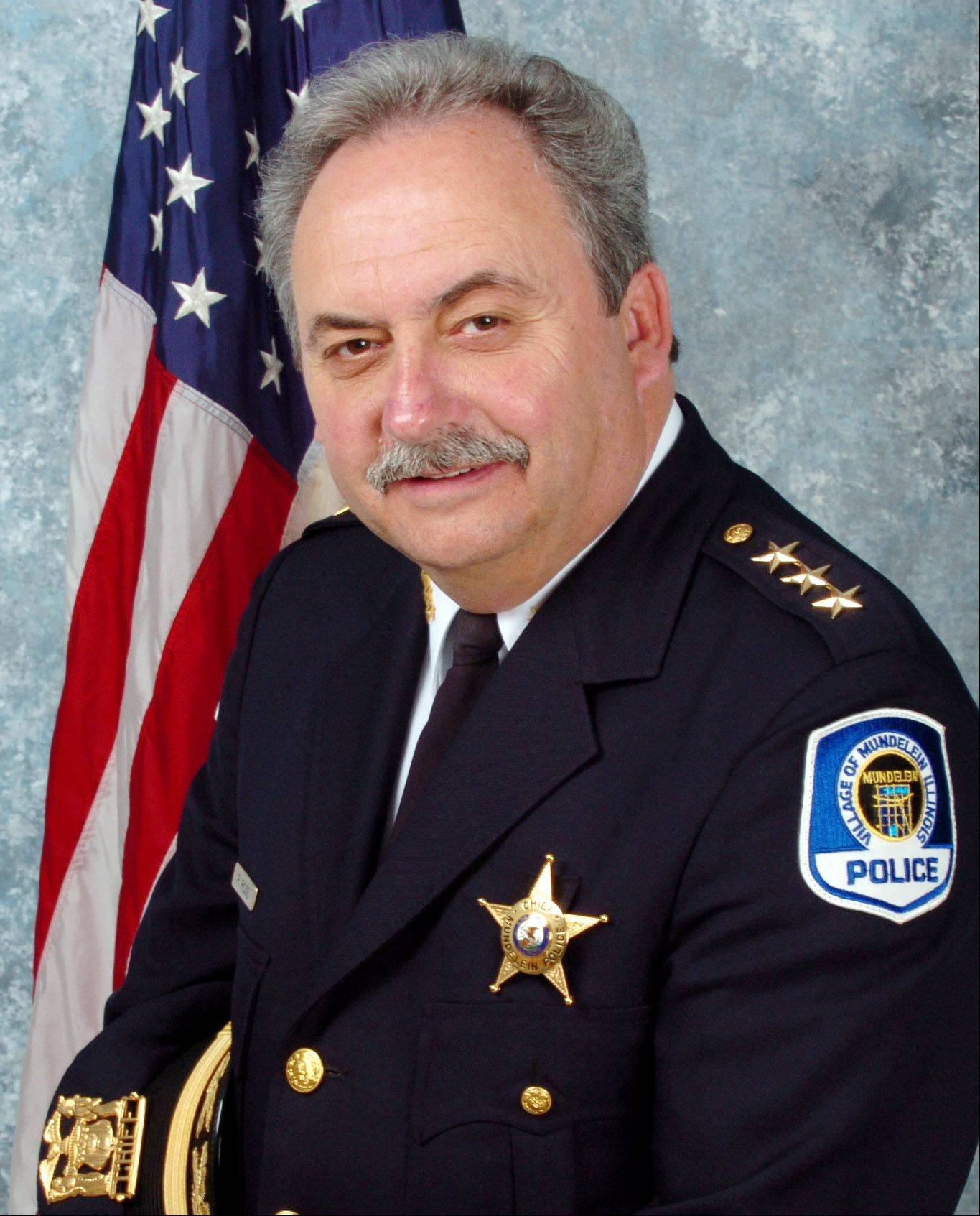 Mundelein Police Chief Ray Rose.