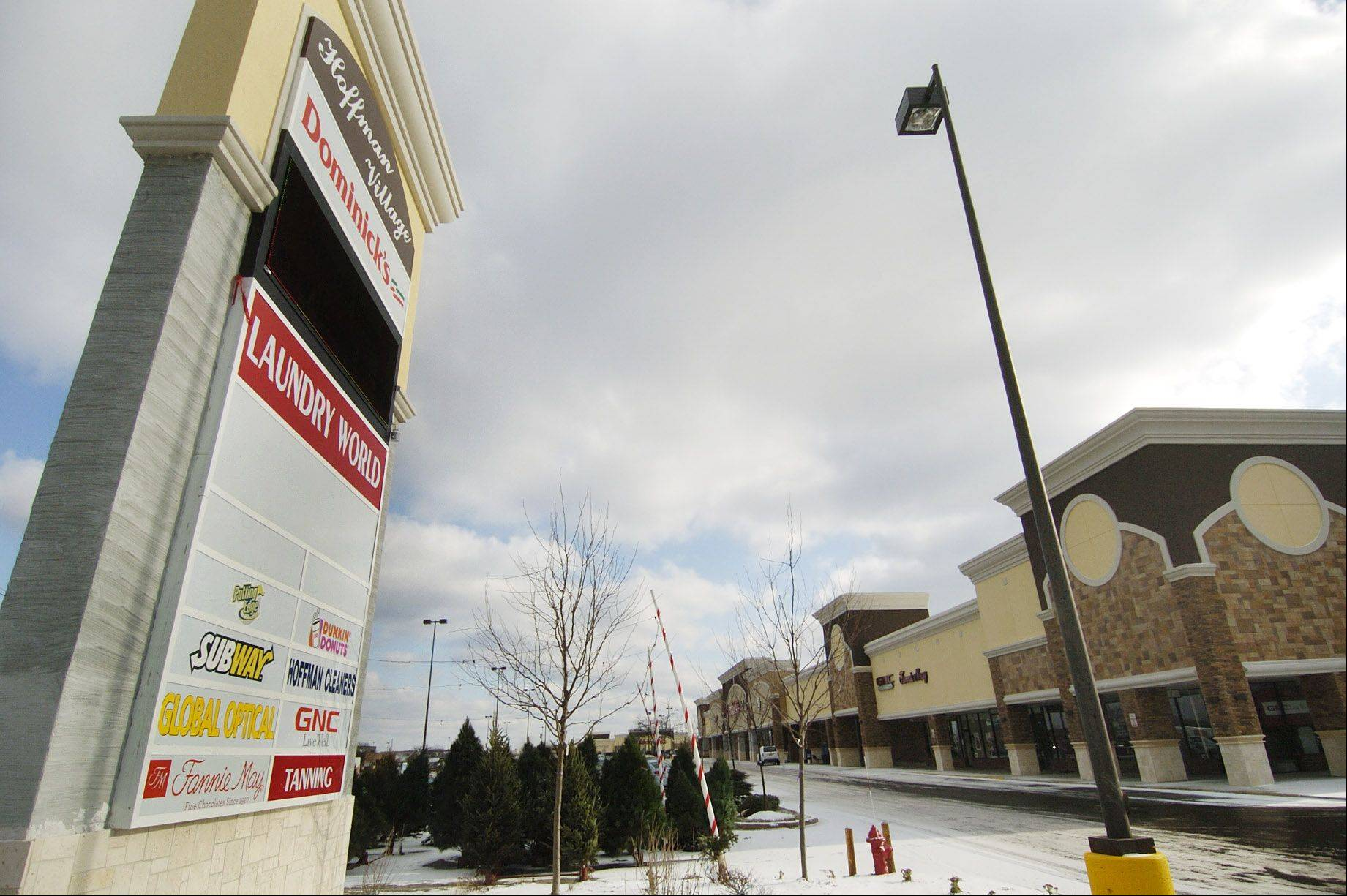 The Hoffman Village Shopping Center at Barrington and Golf roads will be the future location of a Mariano's Fresh Market.