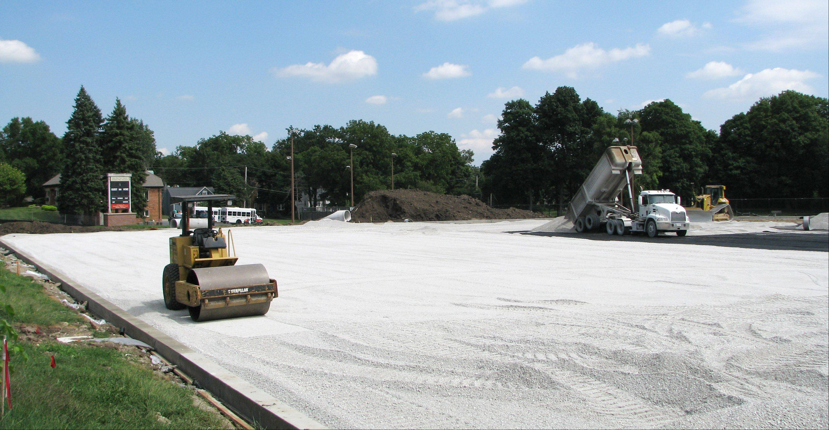 Artificial turf was installed at Memorial Field across from Glenbard West High School in 2010. School district officials are planning on similar turf projects at Glenbard South and East. Glenbard North had turf installed in 2009.