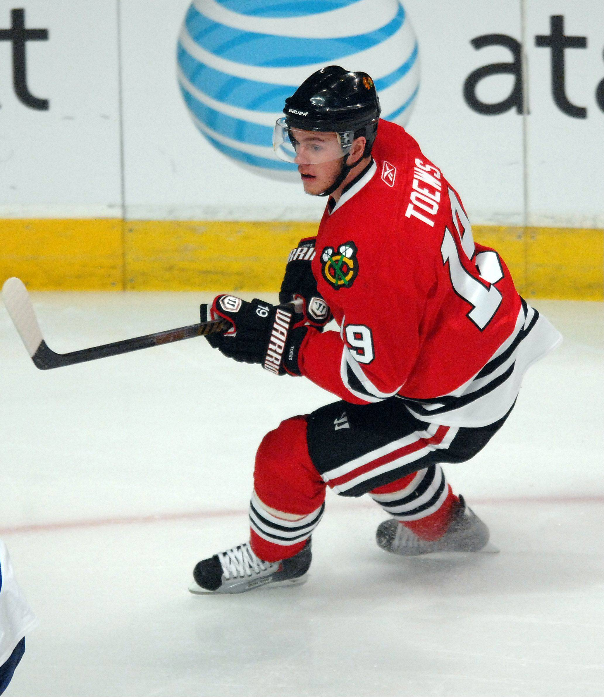 The Blackhawks have to be extremely careful with the return of team captain Jonathan Toews.