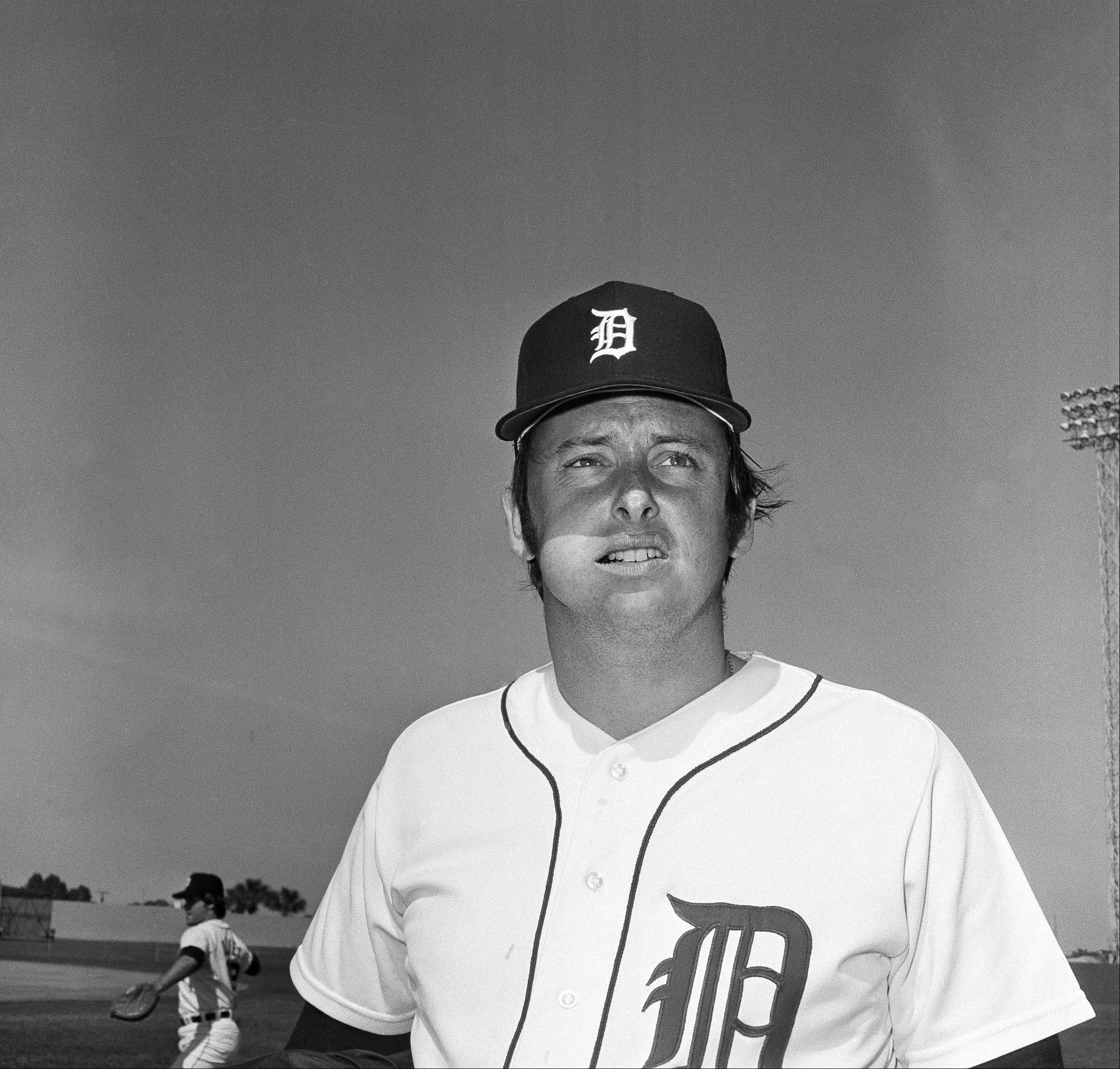 Detroit Tigers pitcher Joe Coleman is shown Feb. 24, 1974.