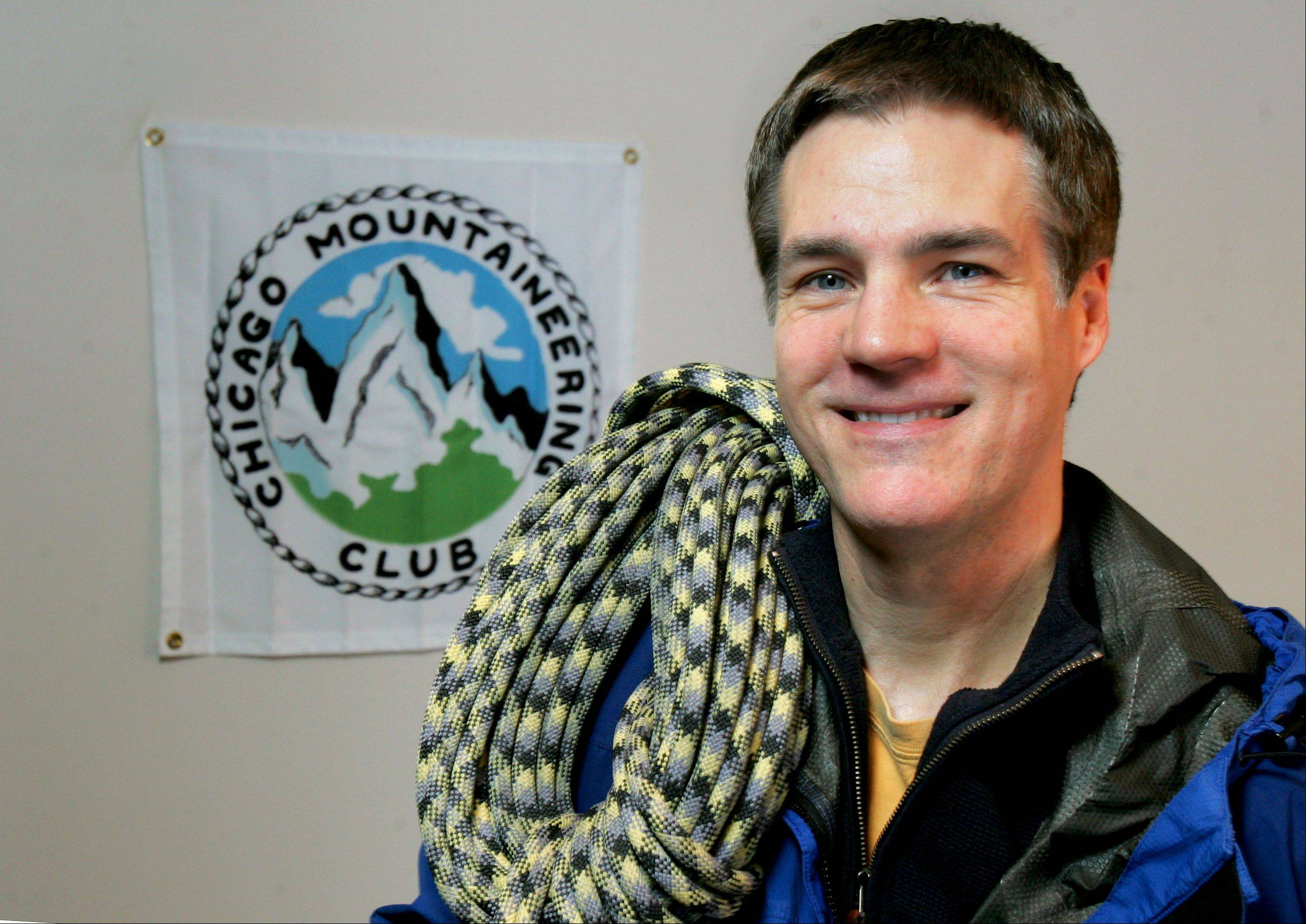 George Naxera of Kildeer has climbed the highest peaks in 49 states and will attempt number 50 in Hawaii this month.