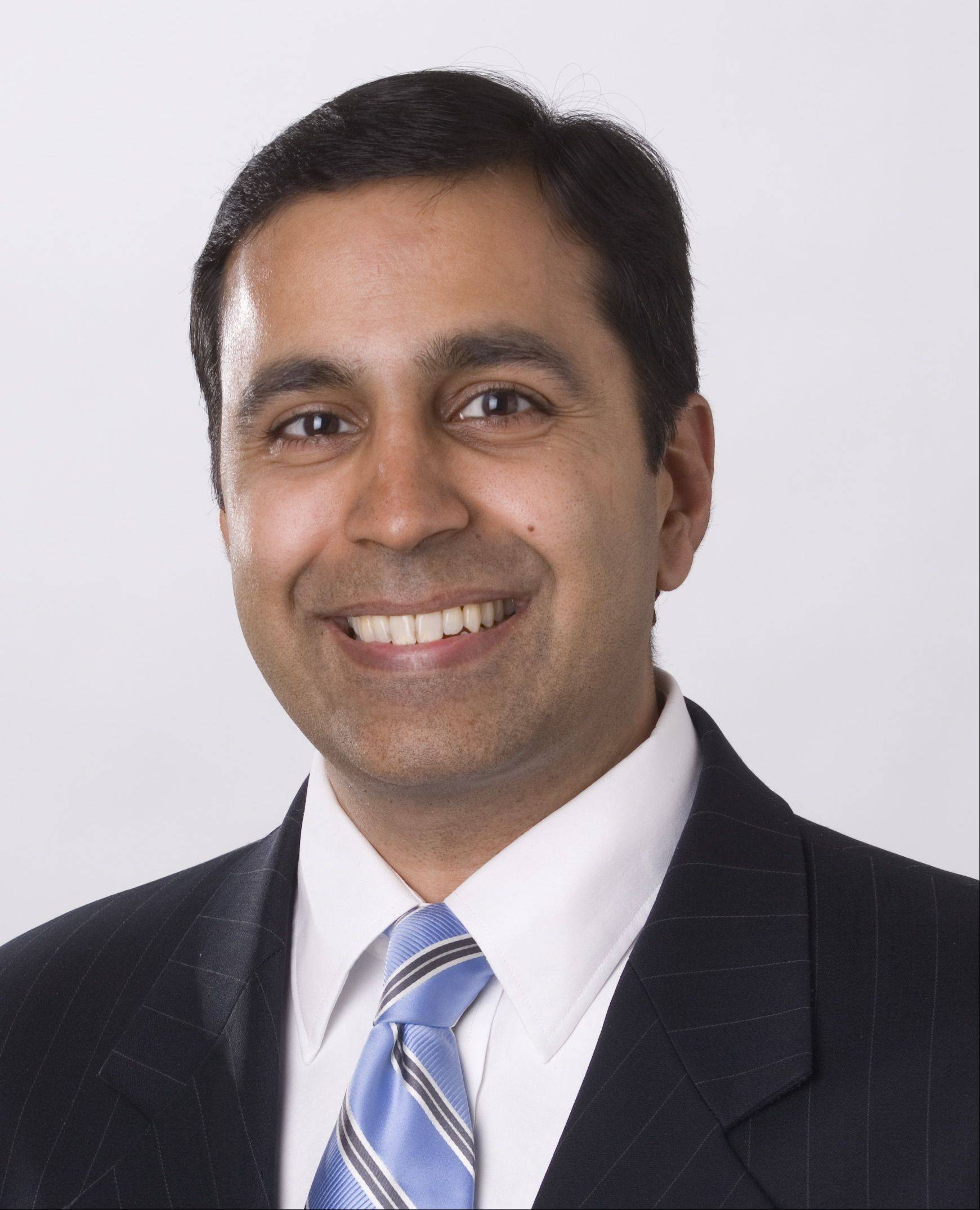 Raja Krishnamoorthi, Democrat, candidate for 8th District U.S. Representative