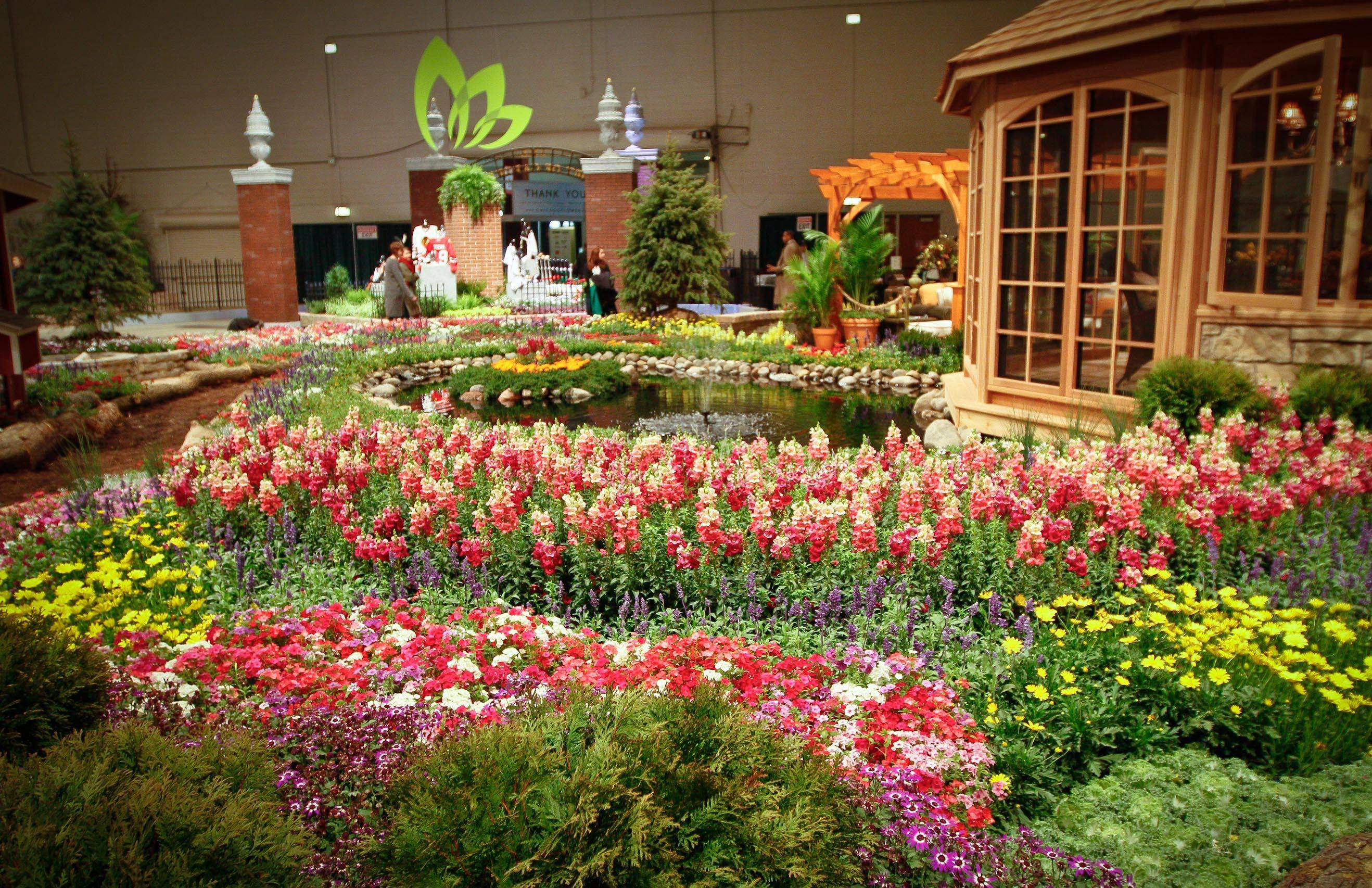 The 2012 Flower & Garden show returns to Navy Pier.