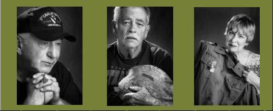 """The Things I Carried"" photo exhibit, featuring photos of Vietnam veterans and created by photographer John Dziekan, will be part of the Gail Borden Public Library's kickoff for ""The Big Read."""