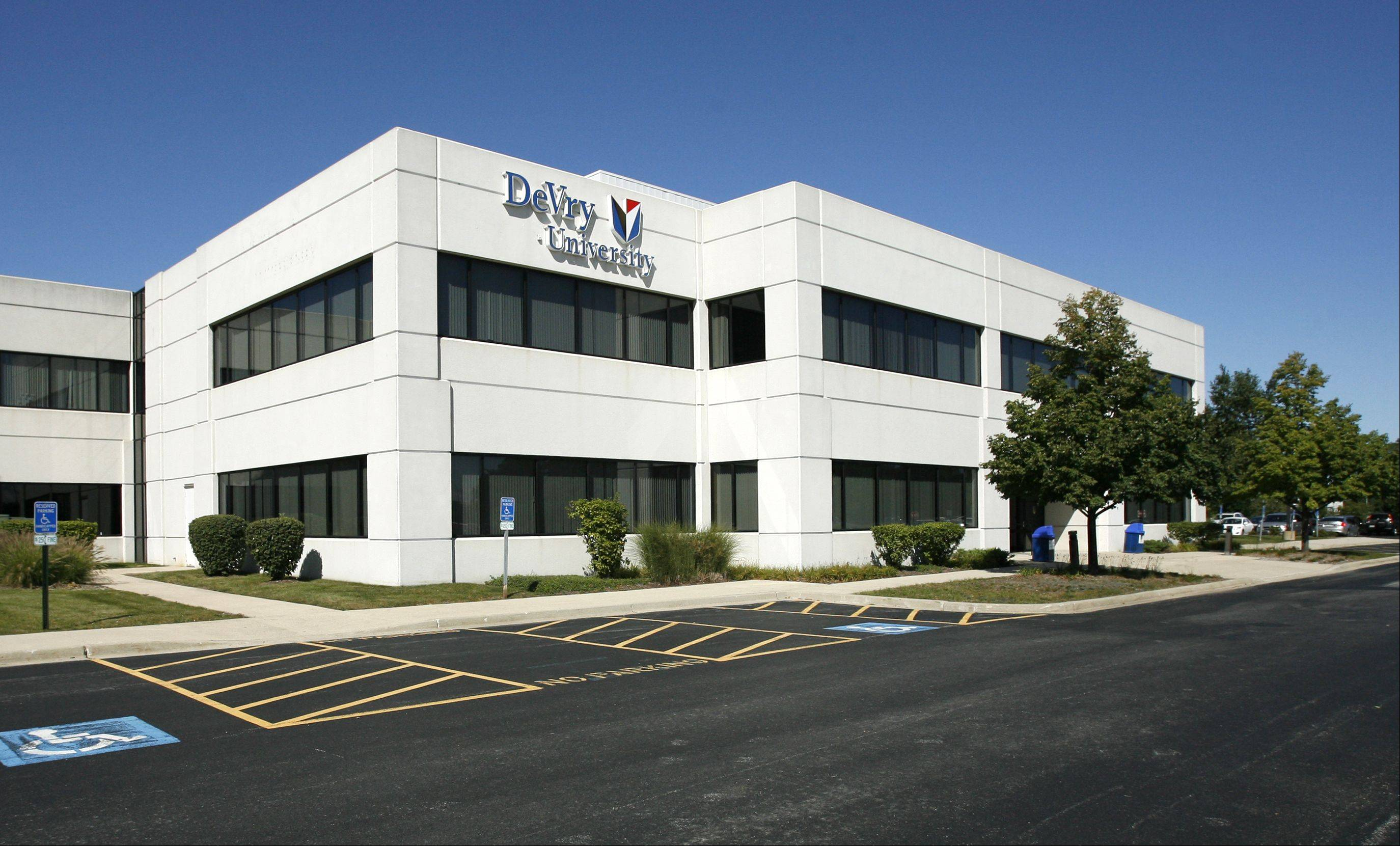 The DeVry University campus in Addison.