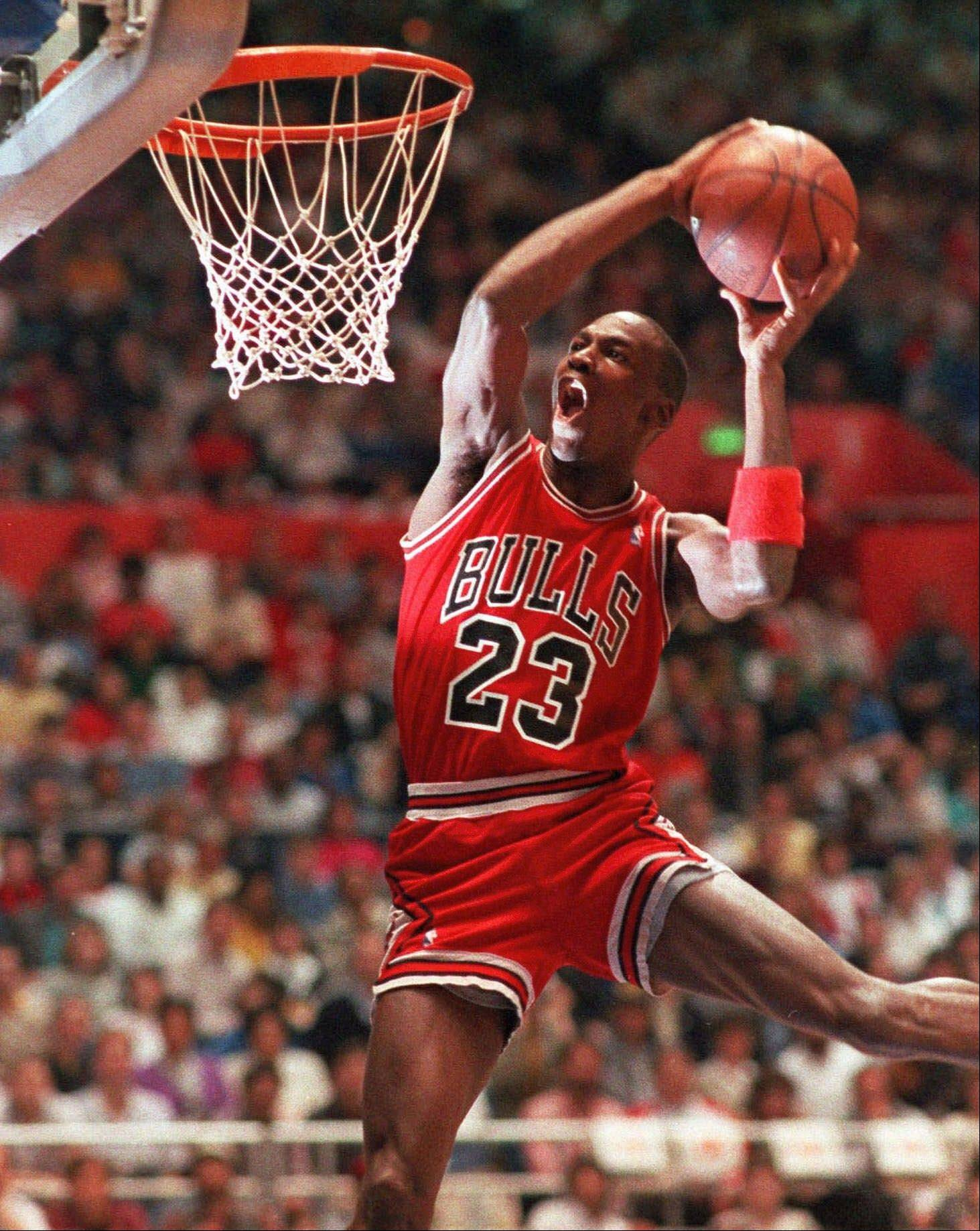 Michael Jordan helped the Chicago Bulls win six NBA championships.