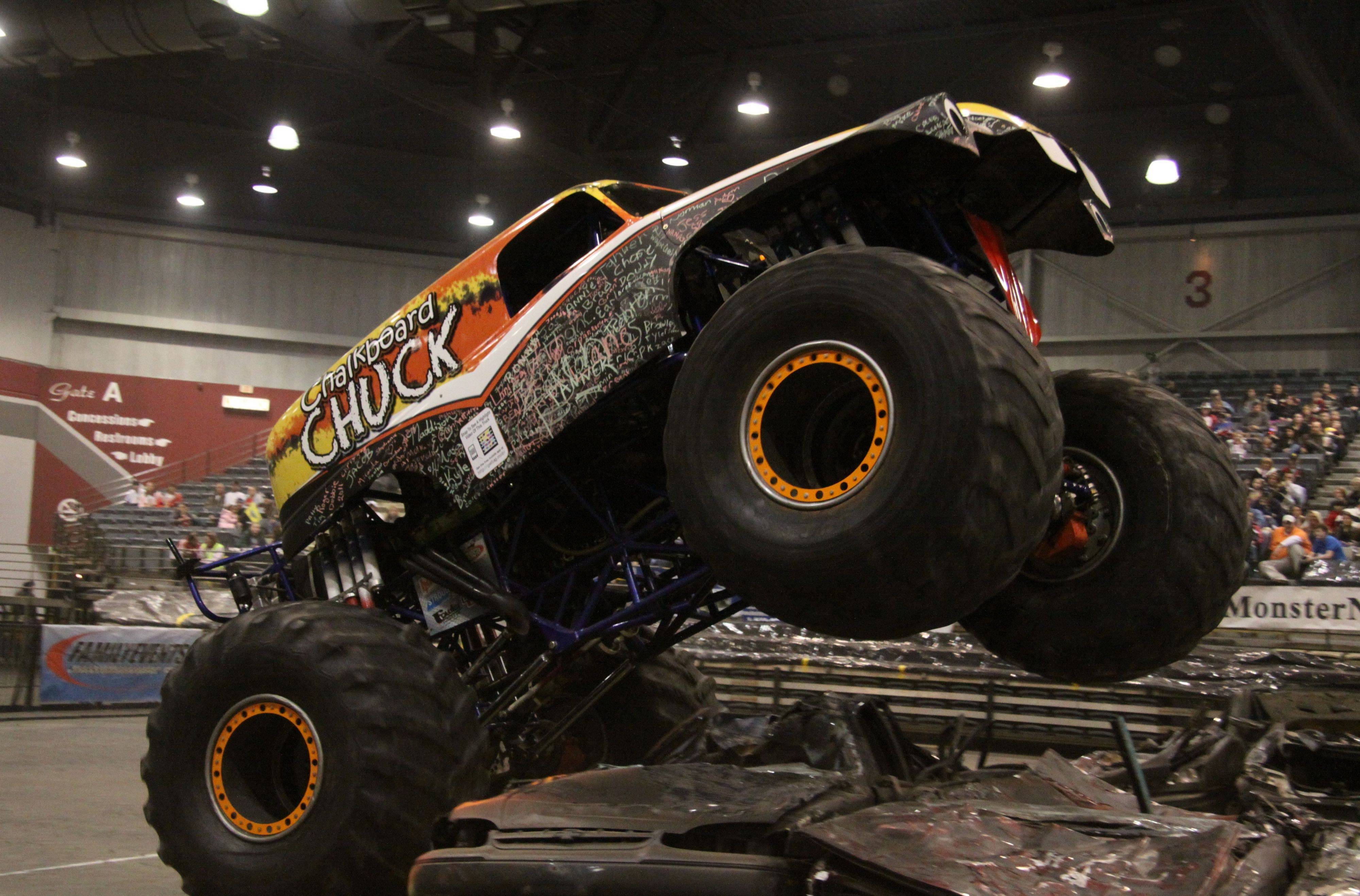 Monster Truck Nationals return to the Sears Centre Arena in Hoffman Estates.
