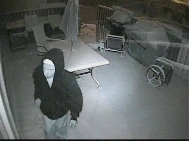 "Security cameras at a Lake Villa home that was set ablaze March 2 caught this man using a ""possible accelerant and road flare,"" to start the fire, authorities said."