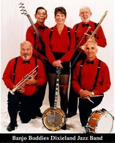 The Banjo Buddies Dixieland Jazz Band is based in the suburbs.