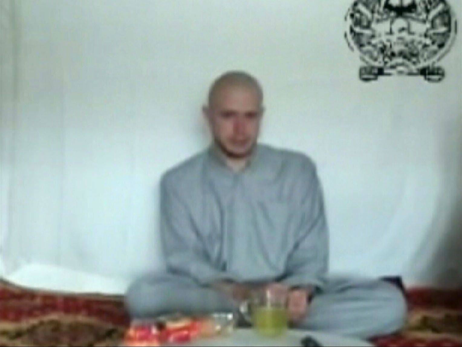 "A Taliban video released July 18, 2009, showed U.S. soldier Bowe Bergdahl, who was captured more than five months earlier in eastern Afghanistan. He said in the video he was ""scared I won't be able to go home."""