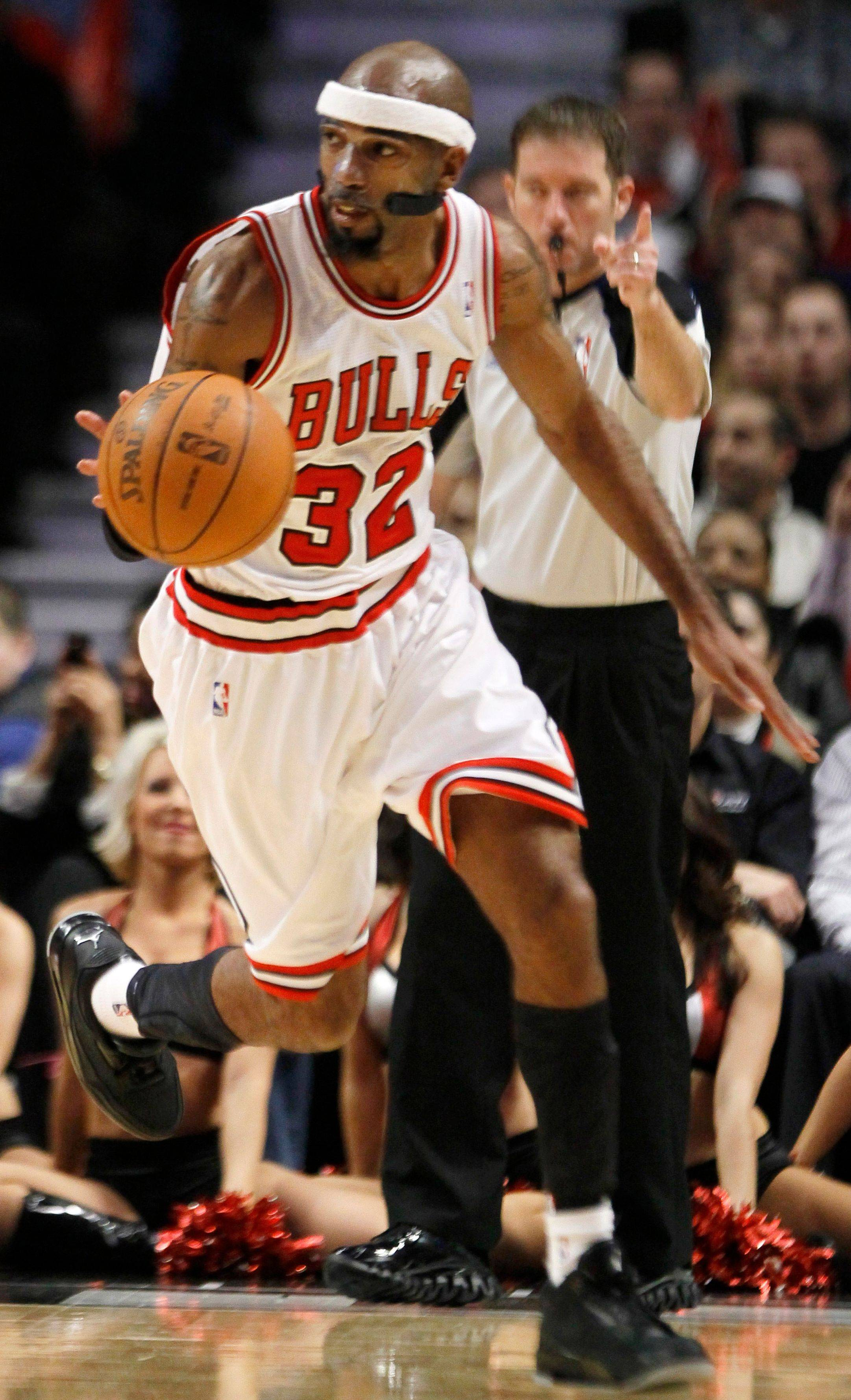 Bulls guard Richard Hamilton is day to day with a shoulder injury.