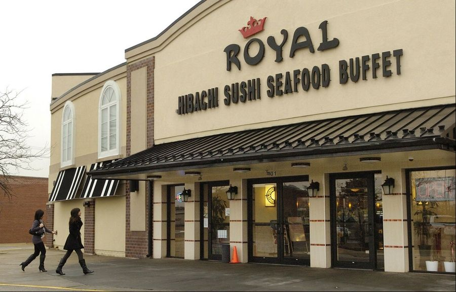 Royal Japanese Seafood Buffet in Hoffman Estates offers an excellent value for an all-you-can-eat feast.