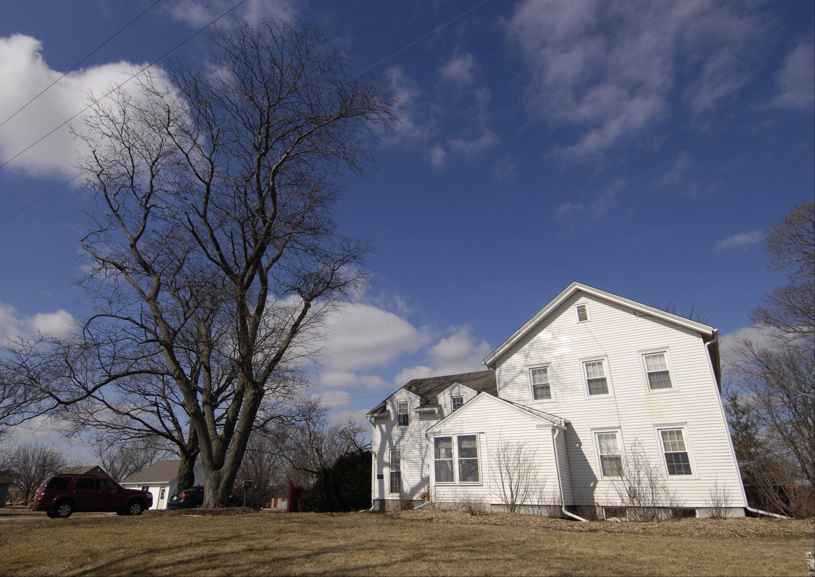 Critics, and even one West Chicago Park District commissioner, question why Executive Director Gary Major lives rent-free in this house owned by the district at Kress Creek Farm on the city's south side.$PHOTOCREDIT_ON$Mark Black/ mblack@dailyherald.com$PHOTOCREDIT_OFF$