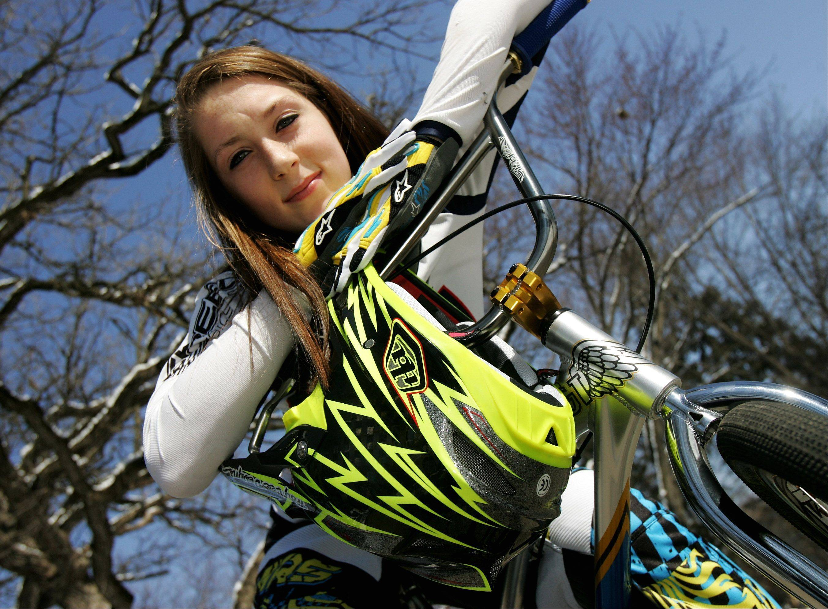 Lake Villa teen collecting BMX world titles on way to Olympics