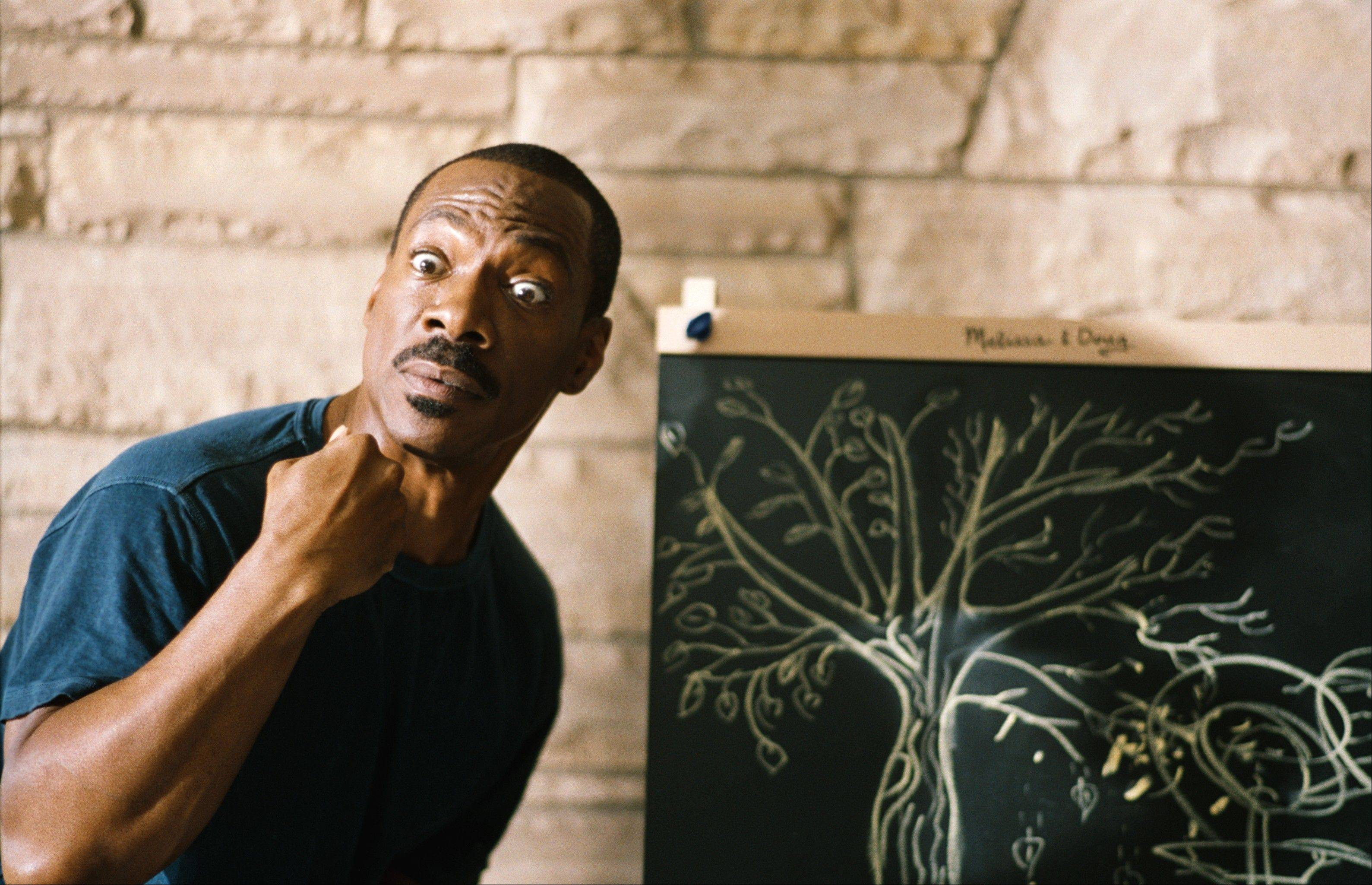"Jack (Eddie Murphy) tries not to waste his words in the comedy ""A Thousand Words."""