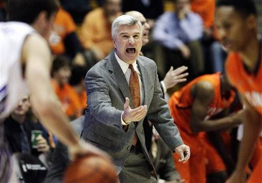 AP source: Illini's Weber fired after 9 seasons