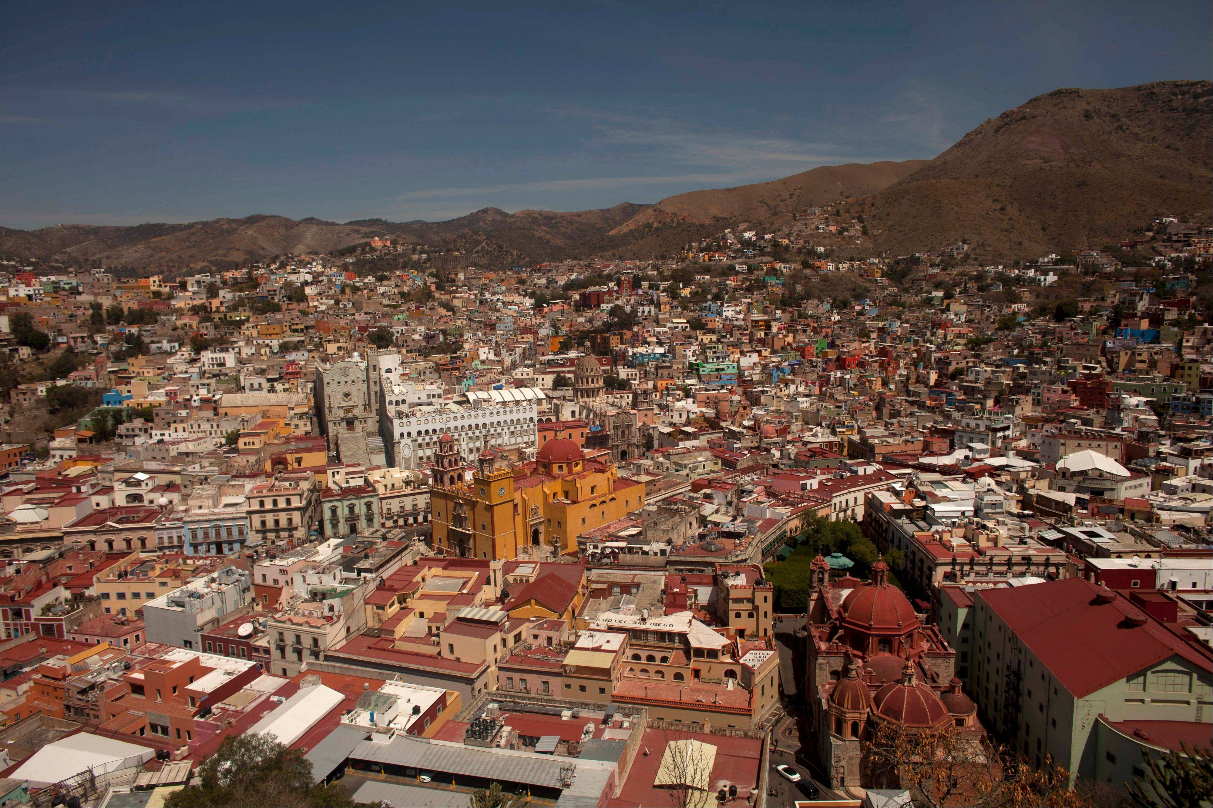 The colonial city of Guanajuato, Mexico, is the cradle of Mexican independence, a city with underground passageways and narrow winding streets that resemble medieval Europe.