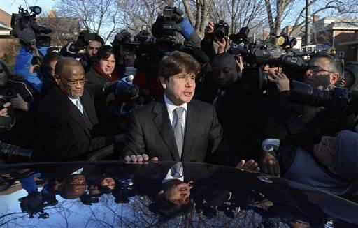 Blagojevich's last address set for evening news